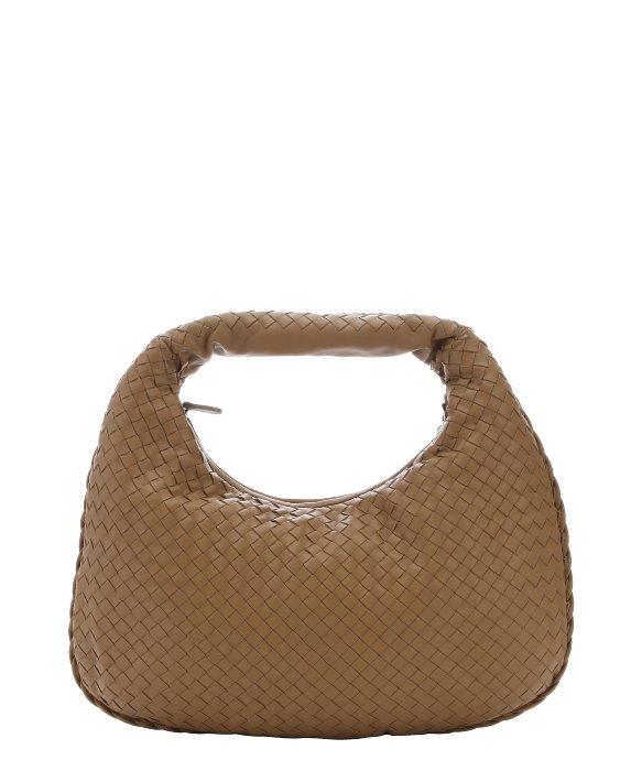 ffaf4c83f7 Bottega Veneta Camel Intrecciato Leather Hobo Shoulder Bag in ...
