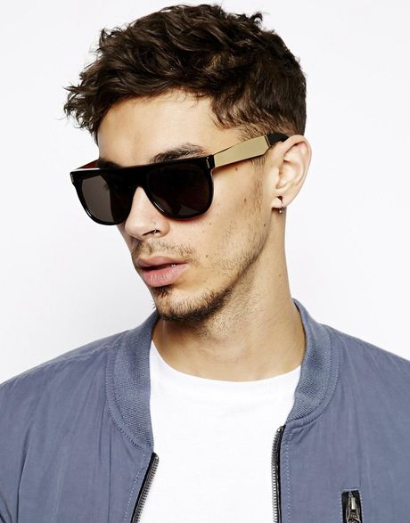 Super Flat Top Sunglasses Gold Super Flat Top Francis