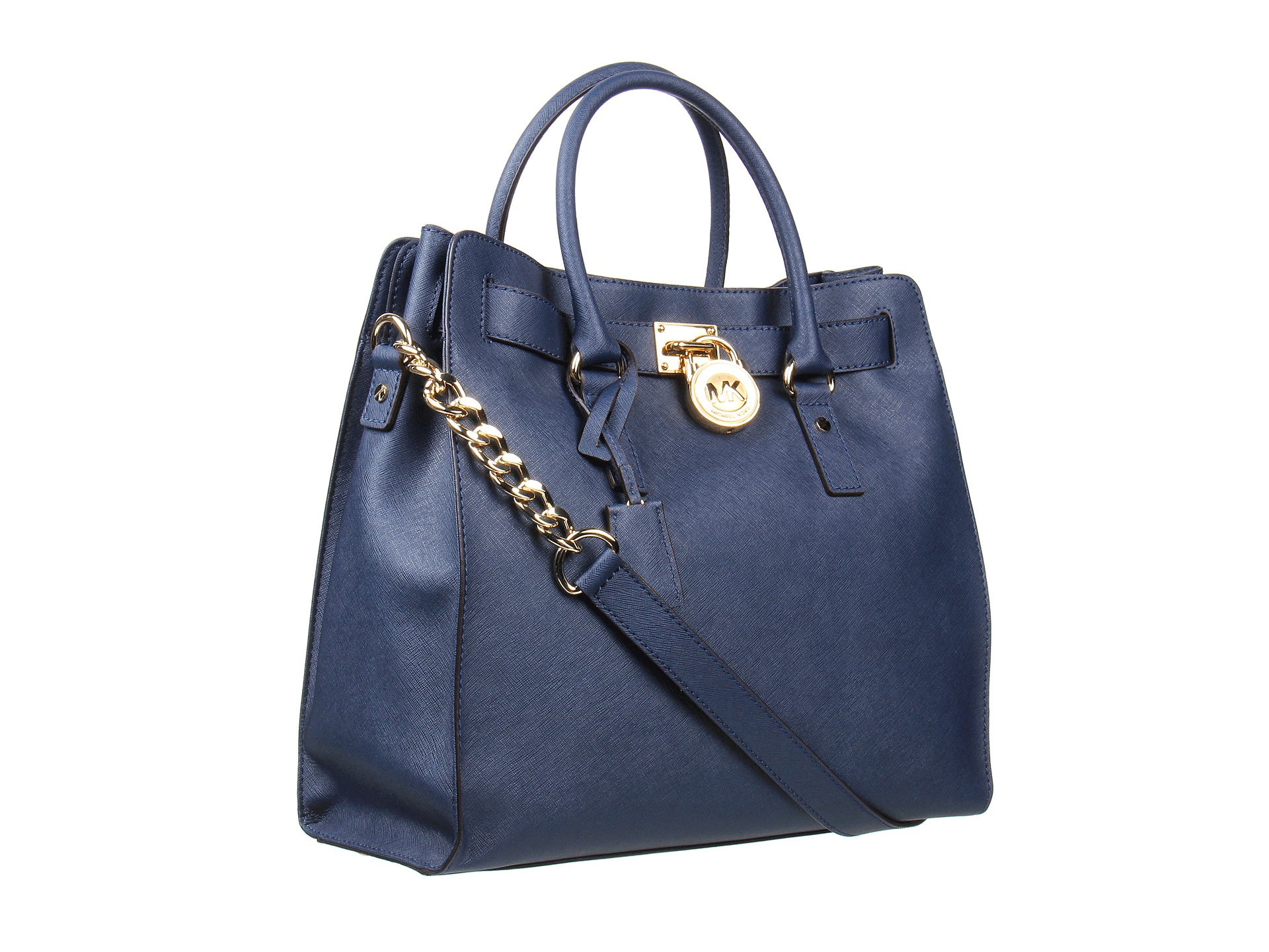 d41d596a499a MICHAEL Michael Kors Hamilton Large North/south Tote in Blue - Lyst