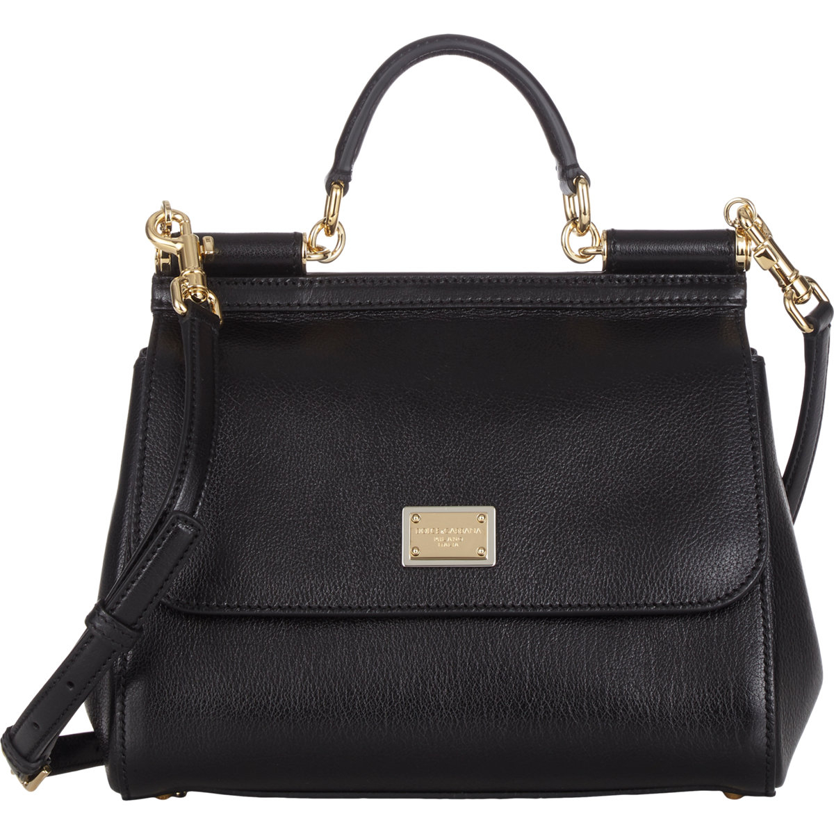 f661ea27b146 Dolce   Gabbana Small Miss Sicily Bag in Black - Lyst