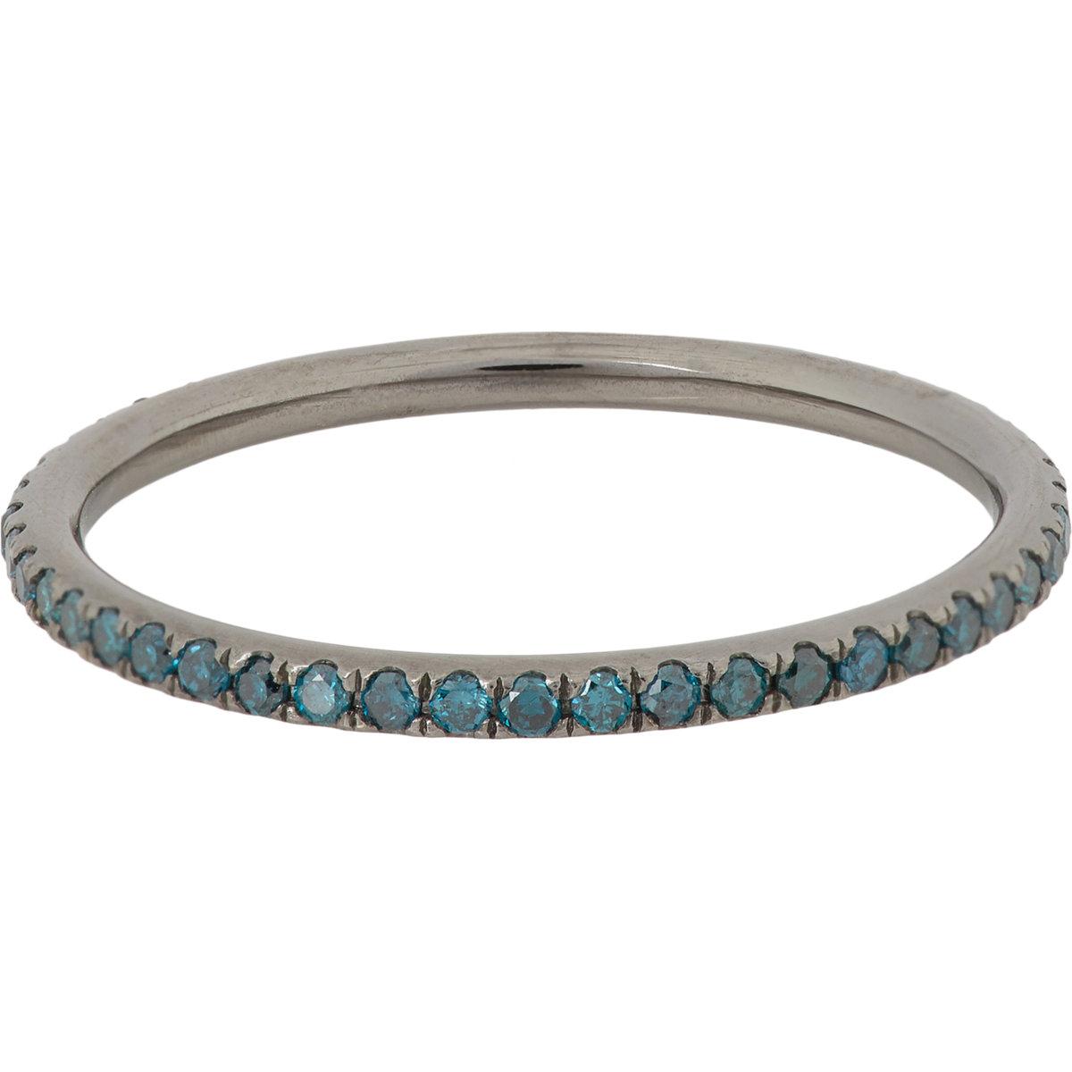 Ileana Makri Thread Band diamond ring - Unavailable 7NuBQ