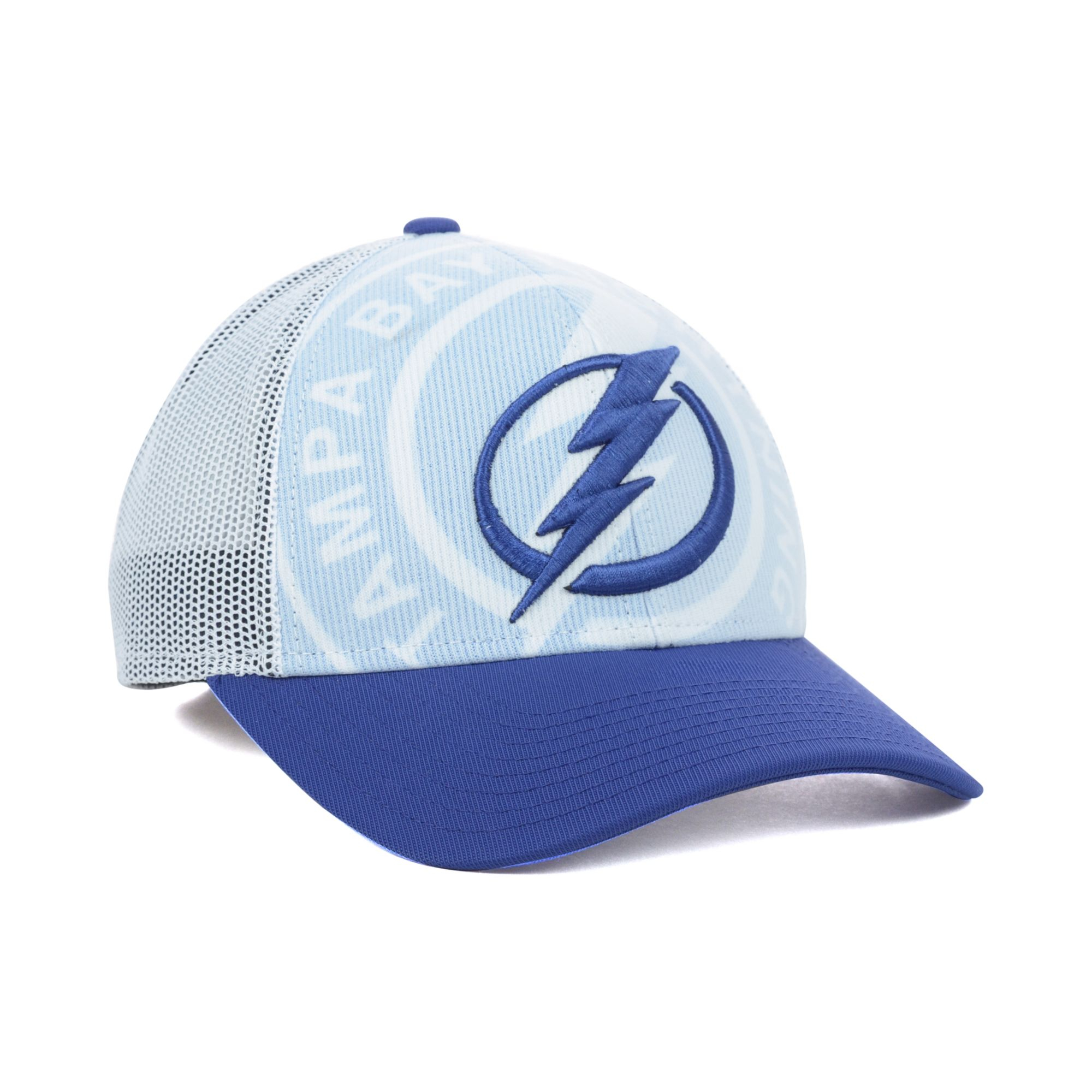 timeless design 61b2f 32bc2 ... where to buy lyst reebok tampa bay lightning nhl draft cap in blue for  men c29f9