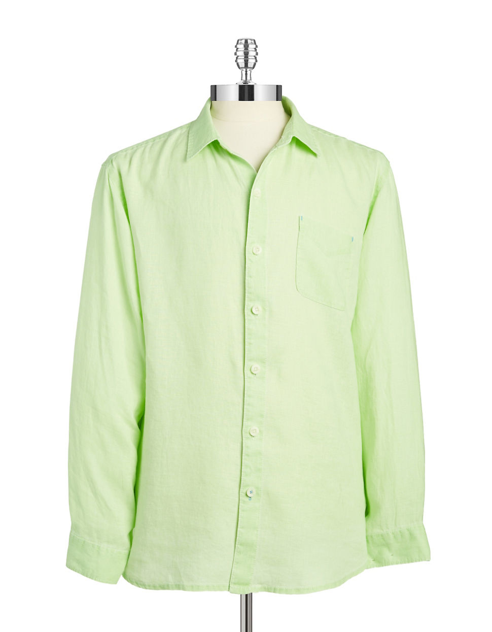 Lyst tommy bahama relax linen shirt in green for men for Where to buy tommy bahama shirts