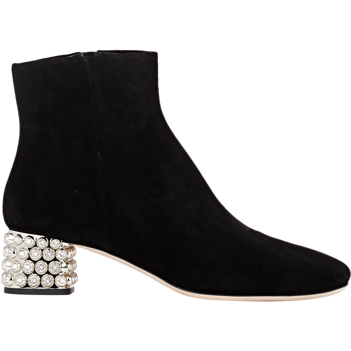 discount view cheapest price online Miu Miu Embellished Ankle Boots buy cheap with paypal clearance official site W55Ia