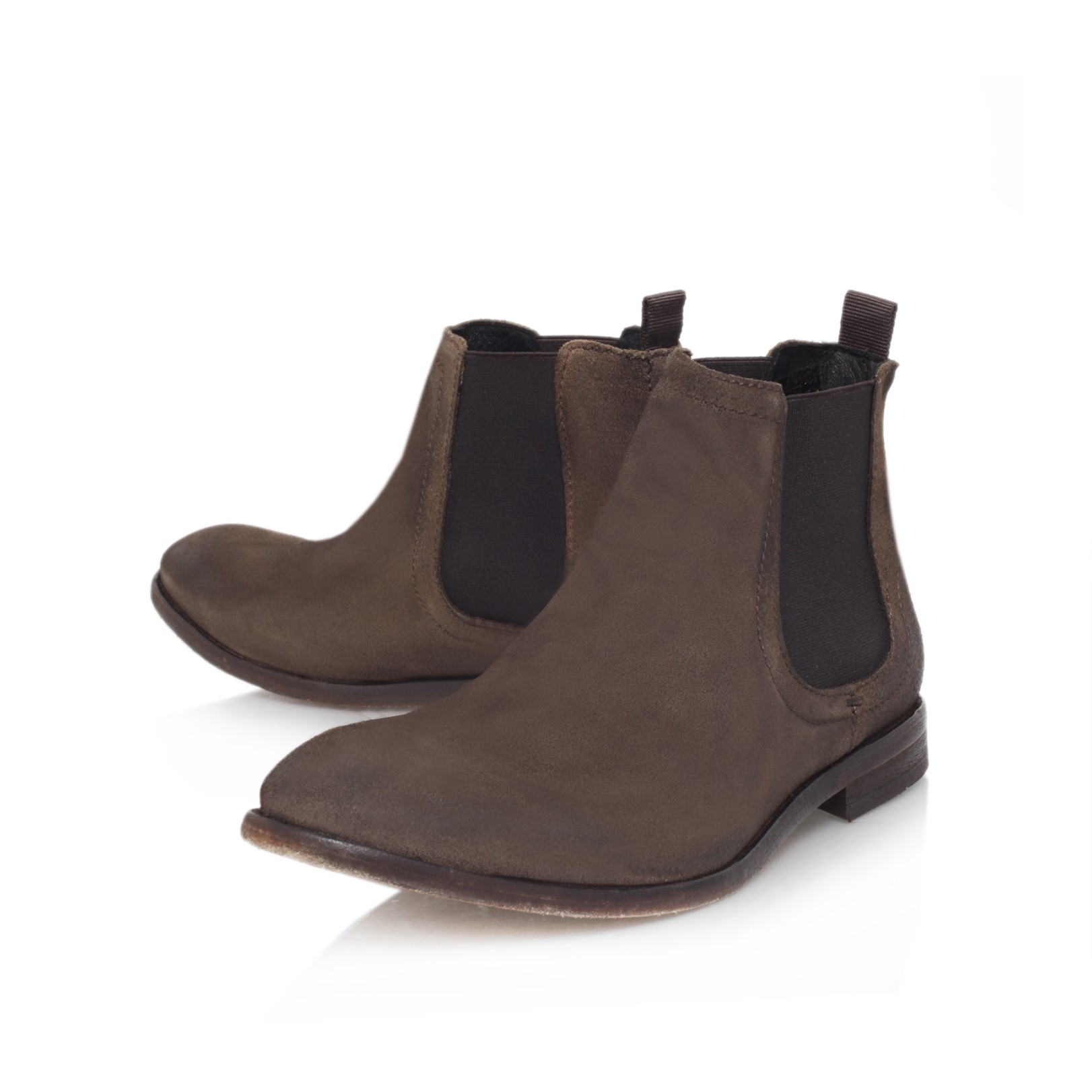 h by hudson patterson chelsea boot in brown for men taupe. Black Bedroom Furniture Sets. Home Design Ideas