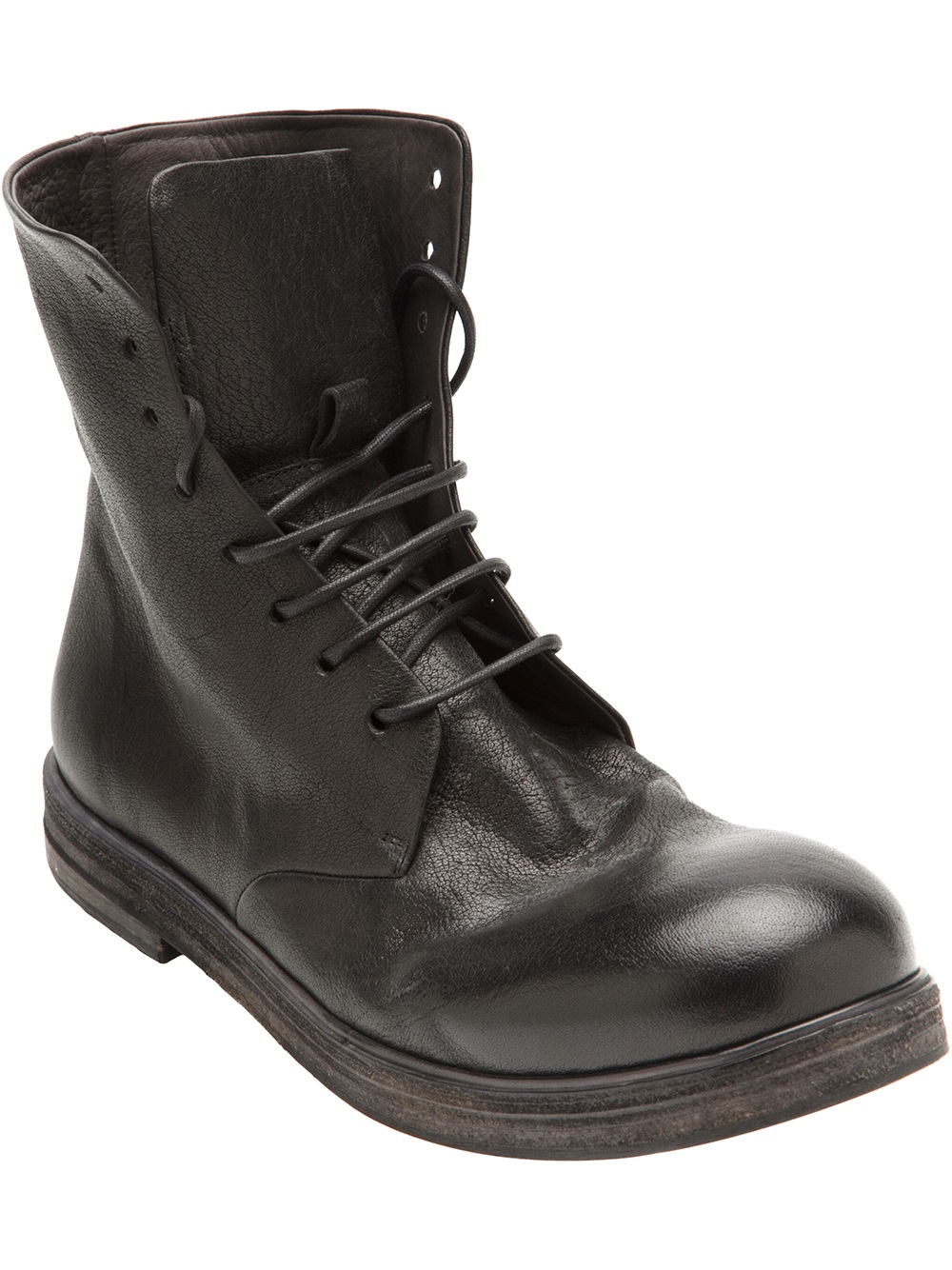 Black Zucca Zeppa Boots Mars zojRWSV