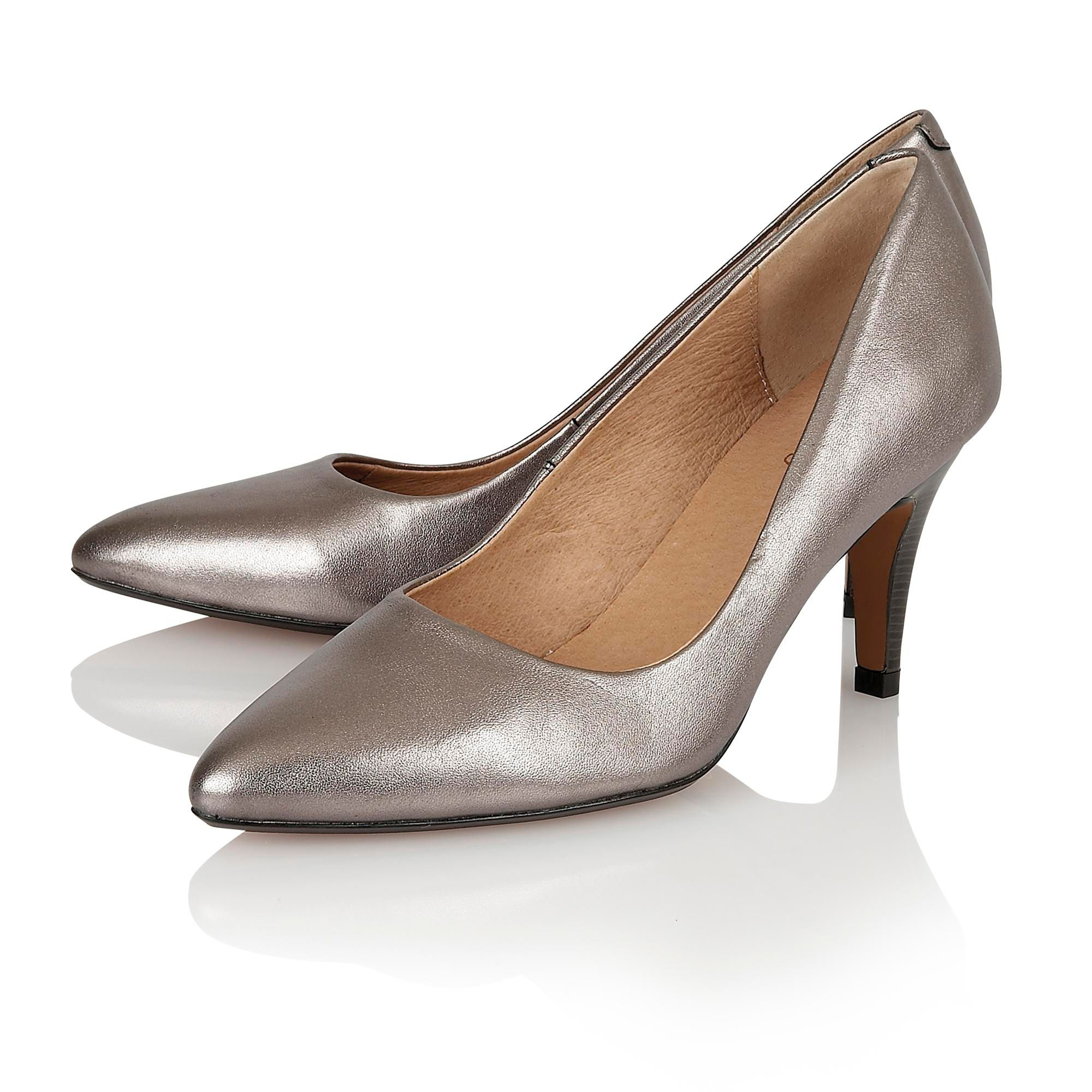 Pewter Shoes New Look