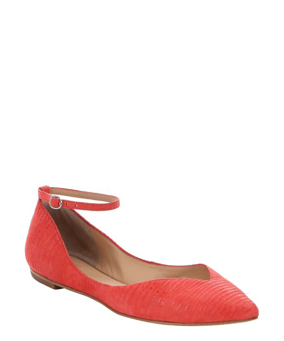 really cheap price countdown package cheap online Belle by Sigerson Morrison Leather Ankle Strap Flats popular online largest supplier cheap price with paypal sale online yps4H