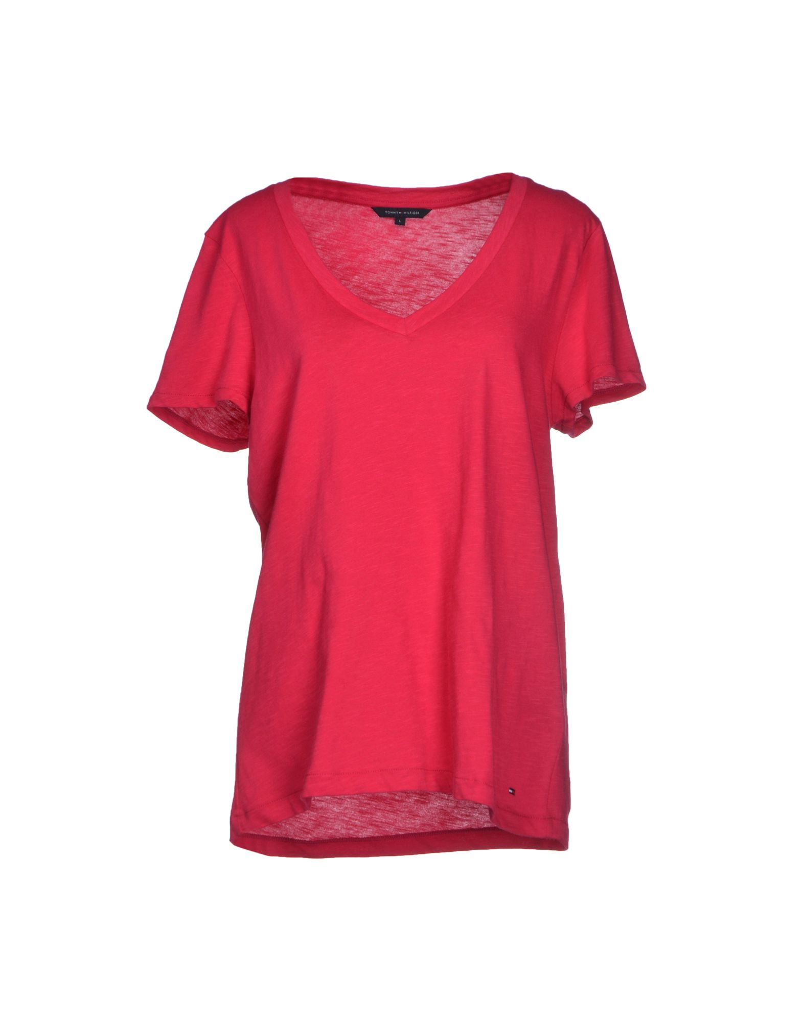 tommy hilfiger t shirt in purple fuchsia lyst. Black Bedroom Furniture Sets. Home Design Ideas