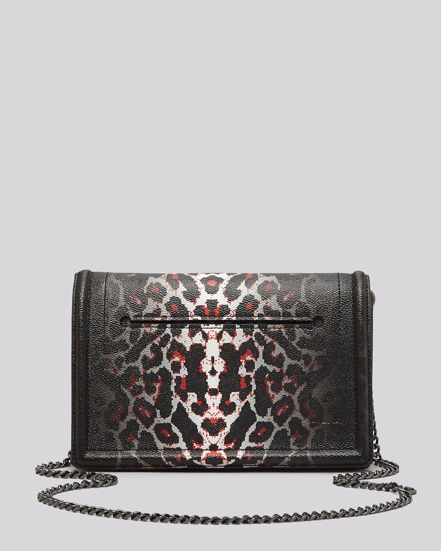d1a33c2fbf7d Lyst - McQ Shoulder Bag Leopard Print Simple Fold