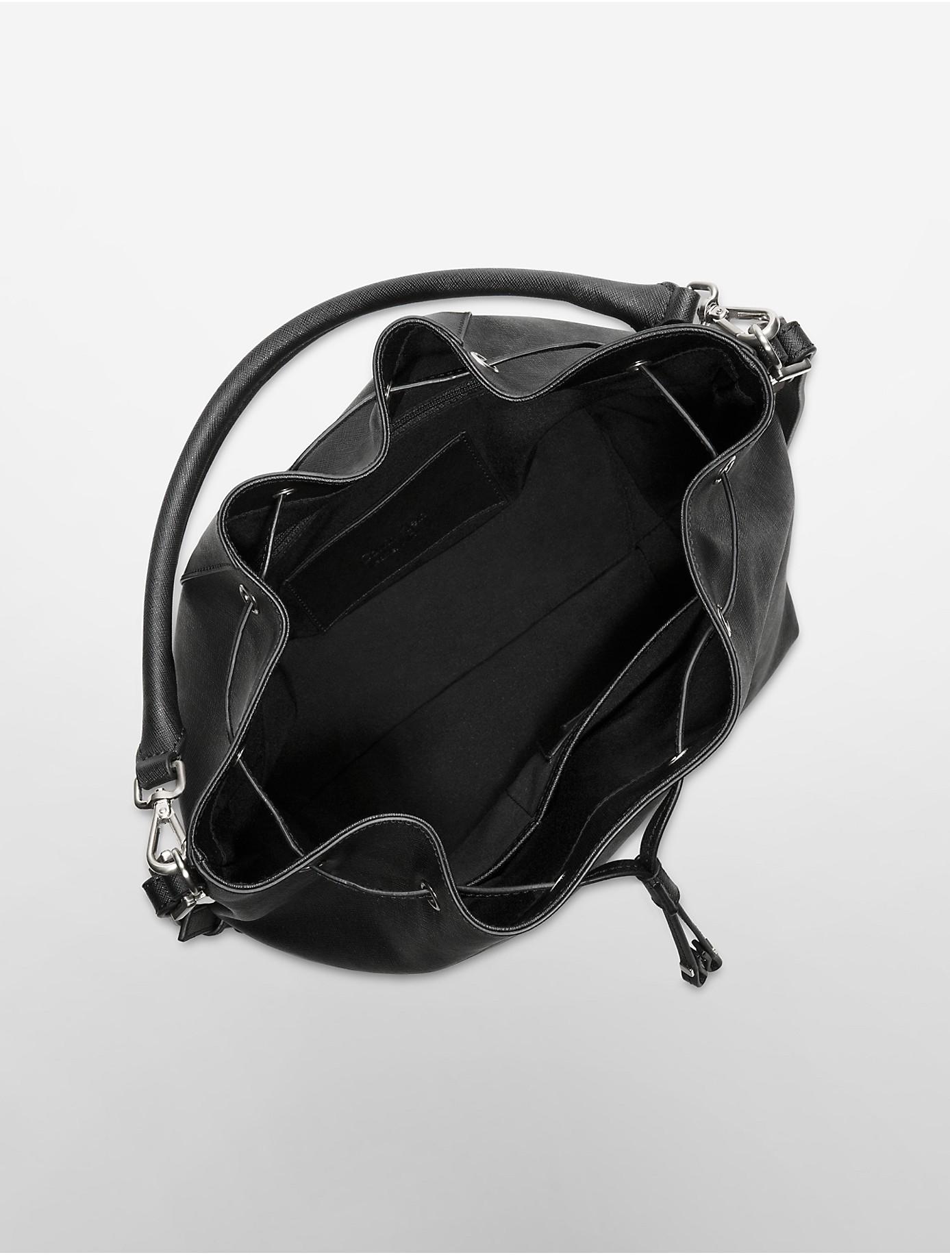 Lyst Calvin Klein Scarlett Convertible Drawstring Bucket