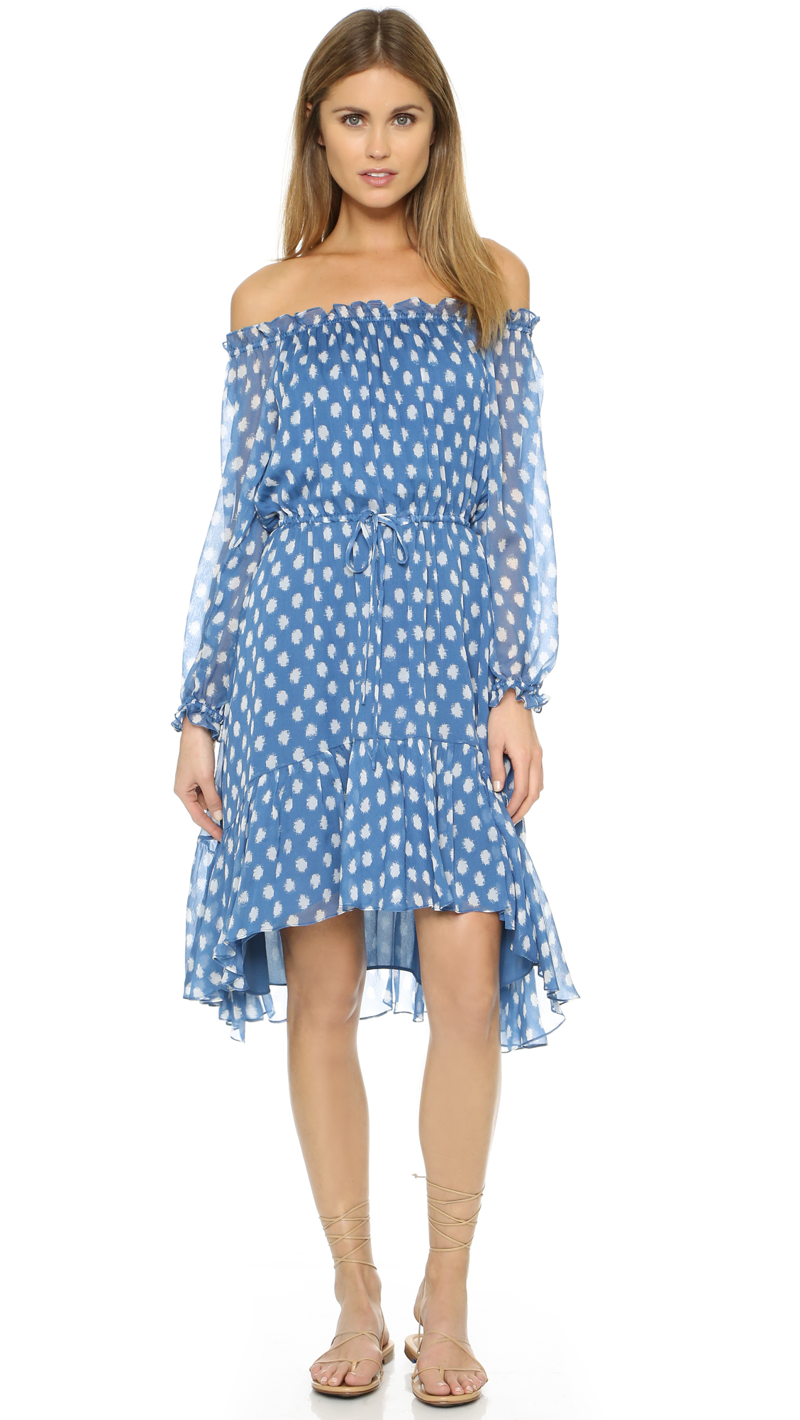 Traditional color combinations for cheap polka dot dresses were black dots on a white background, white dots on a black background, white on navy blue, navy blue on .