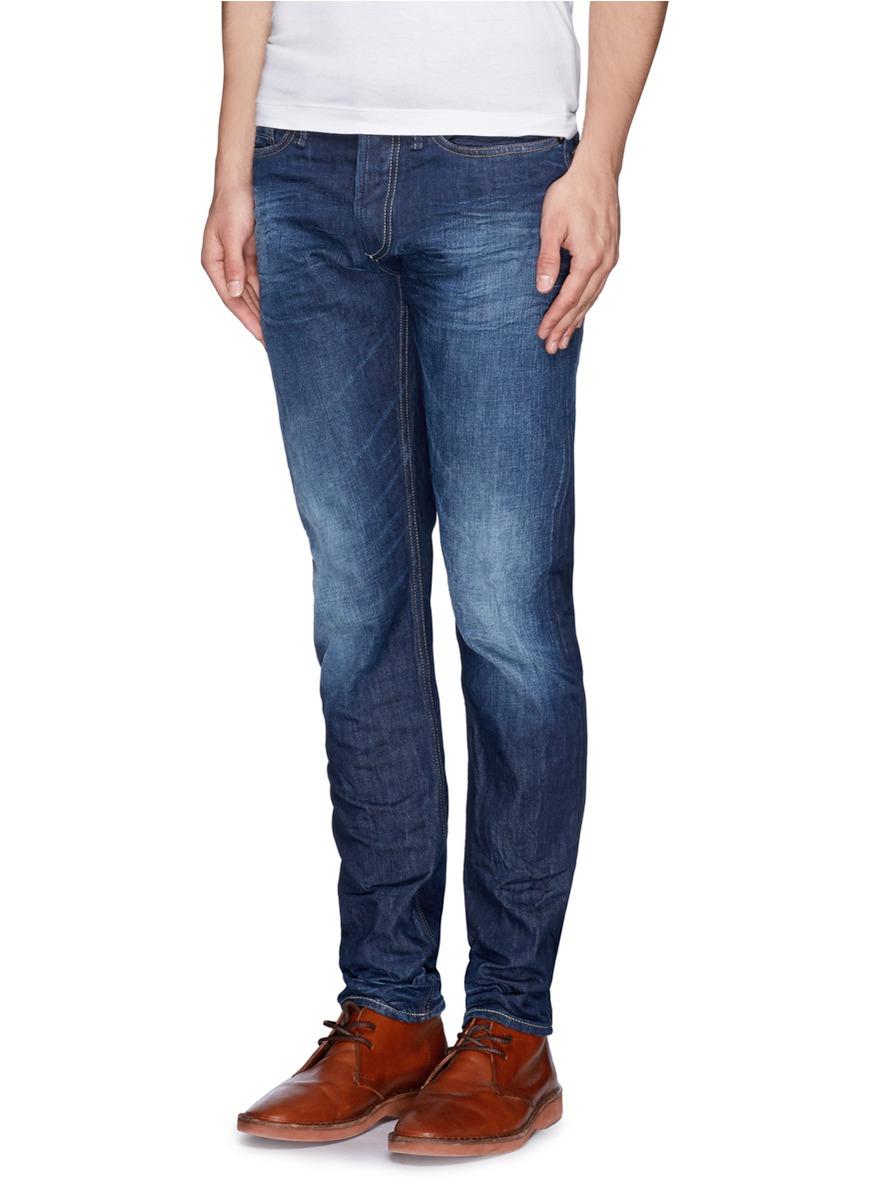 Lyst Denham Razor Slim Fit Jeans In Blue For Men