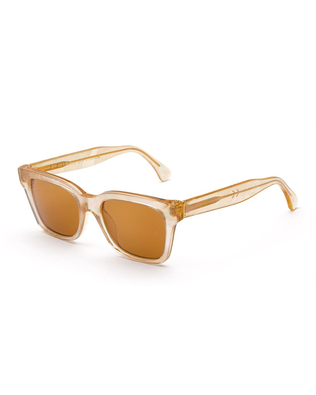 Retrosuperfuture America Pool Square Sunglasses in Brown ...