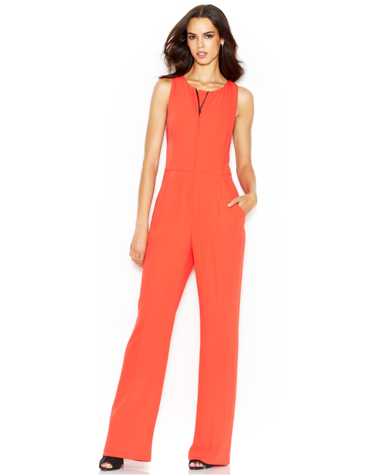 7a047997cd2e Gallery. Previously sold at  Macy s · Women s Olive Jumpsuits ...