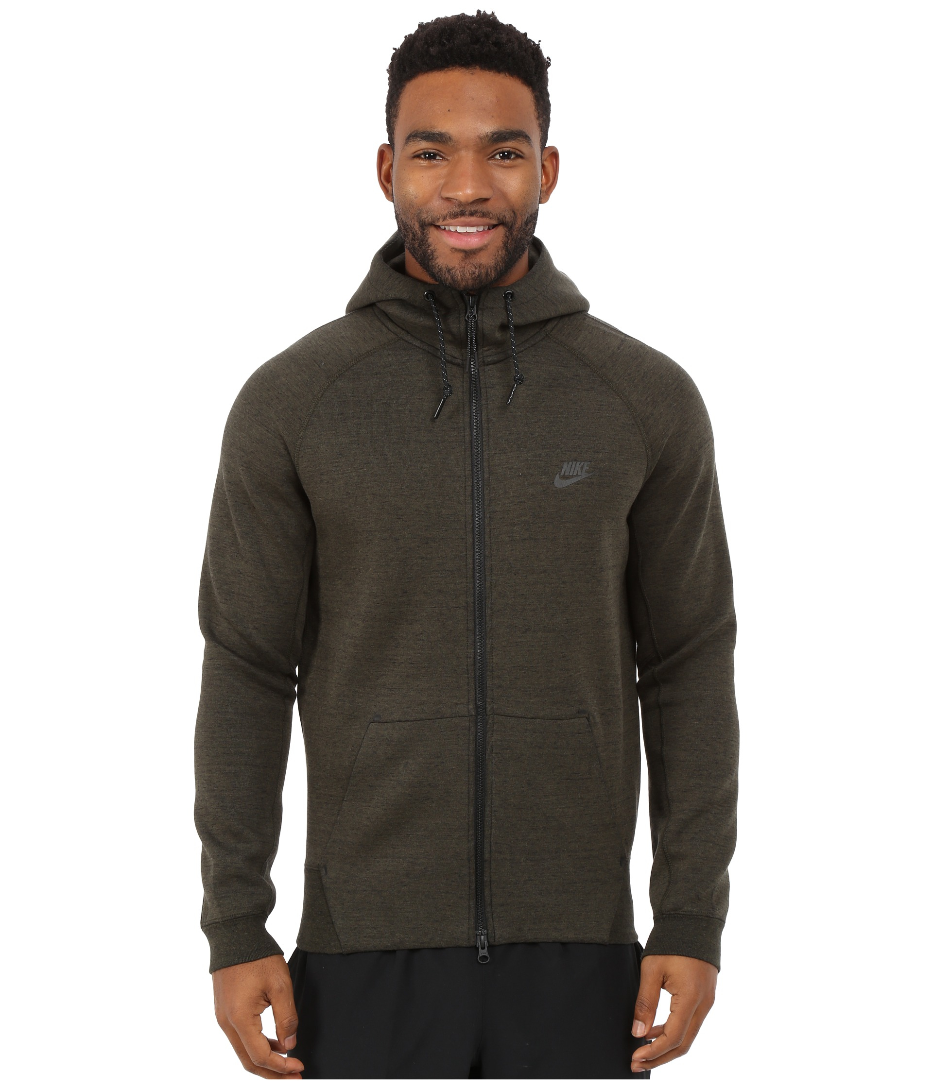 Nike Tech Fleece Aw77 1.0 Full-zip Hoodie in Natural for Men | Lyst