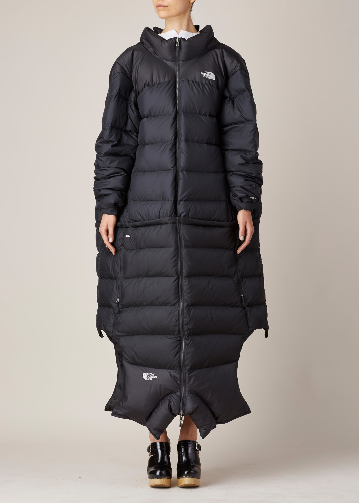 Lyst Vetements Black Reworked Puffer Coat In Black
