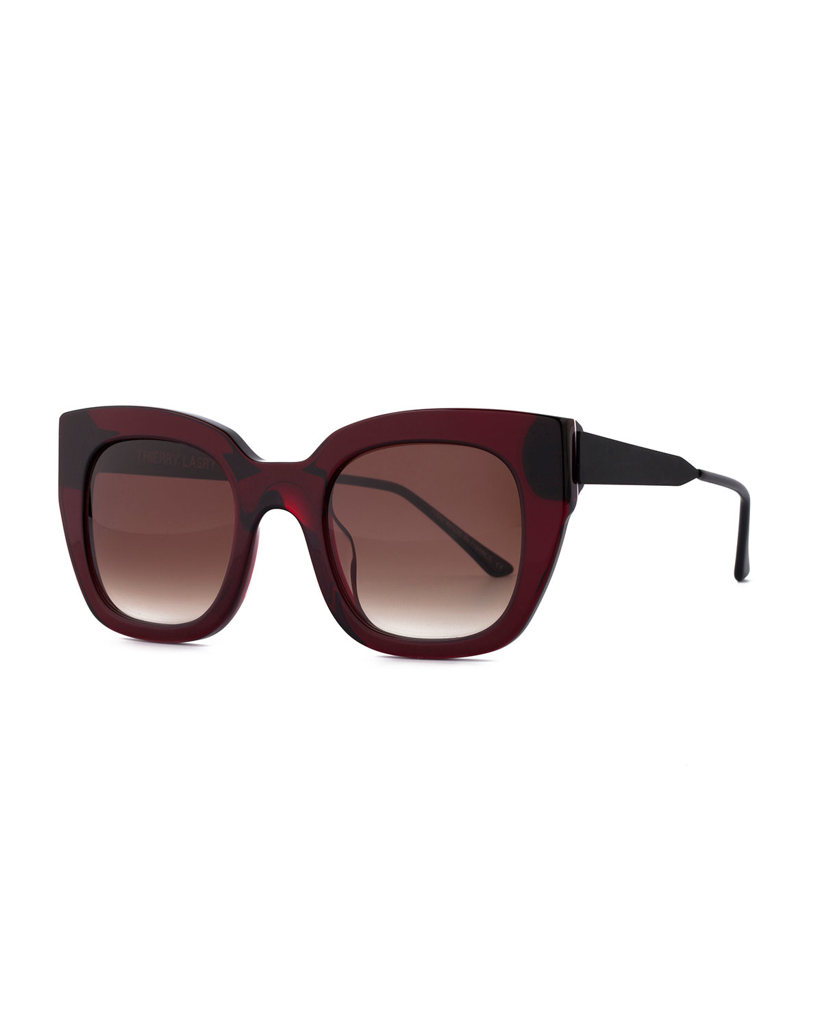 Thierry lasry Swingy Gradient Square Sunglasses in Purple ...