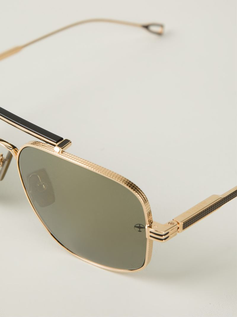 Dita eyewear Lancier X Dita Aviator Sunglasses in Gold for ... Dita Eyewear