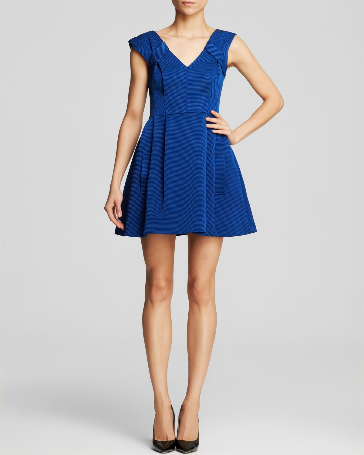 Lepore Blue Dress
