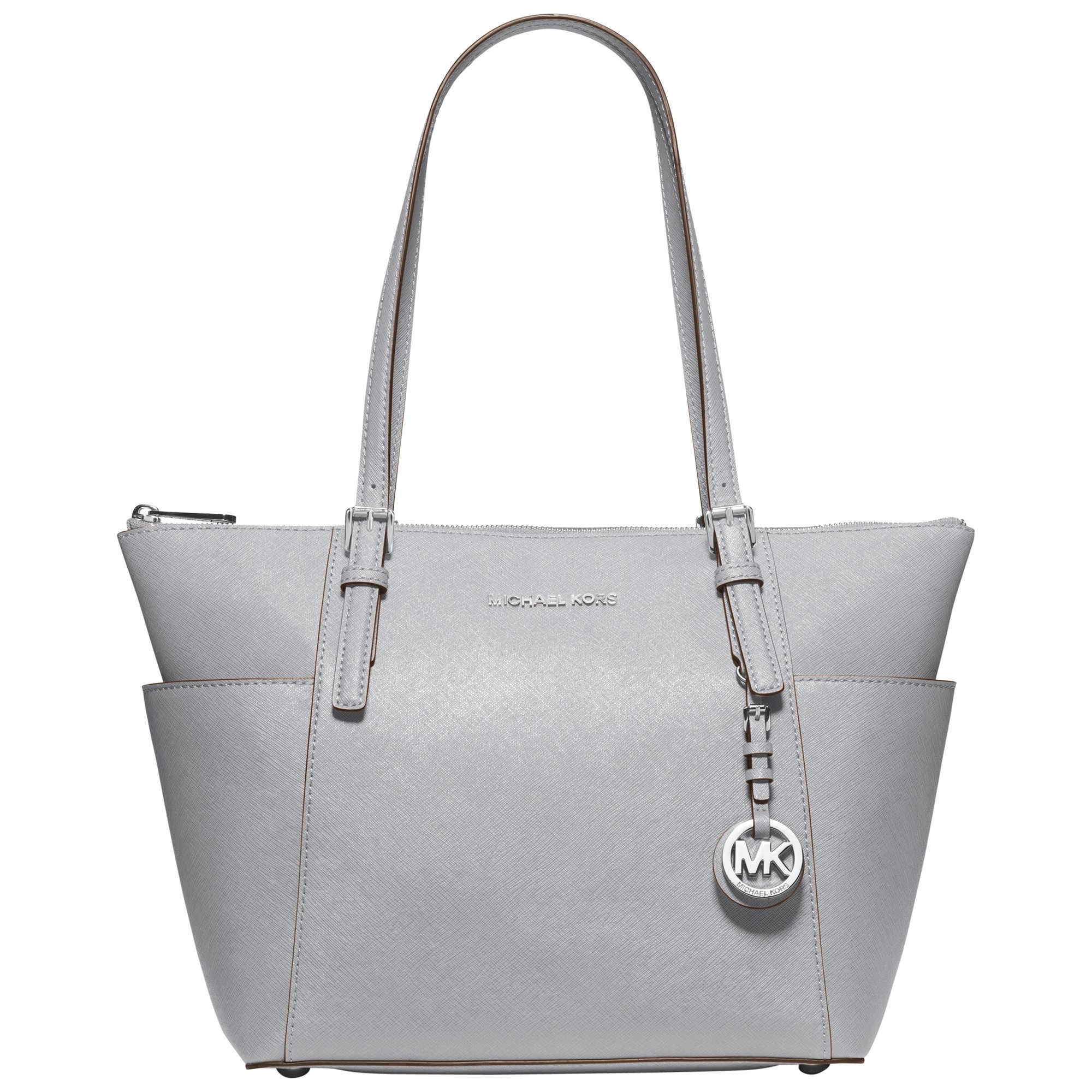 bf5ca0335e86 ... where can i buy michael michael kors jet set east west leather tote bag  in gray