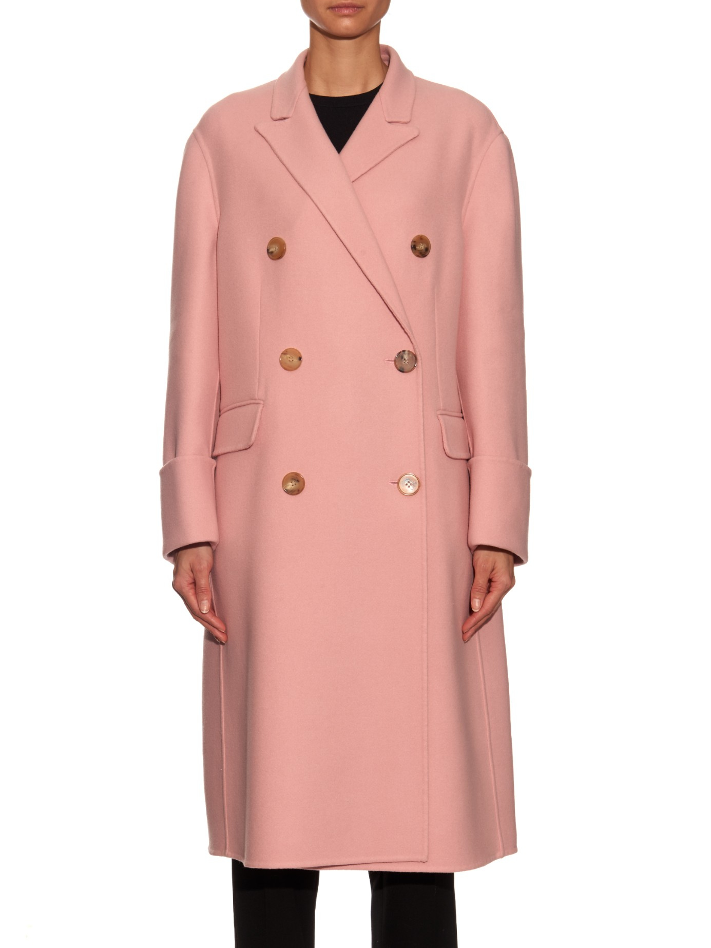 Alexander mcqueen Double-breasted Wool And Cashmere-blend Coat in ...