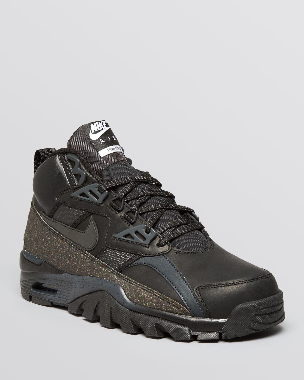 d9d835c3f07 Lyst - Nike Air Trainer Sc H20 Repel Sneakerboots in Black for Men