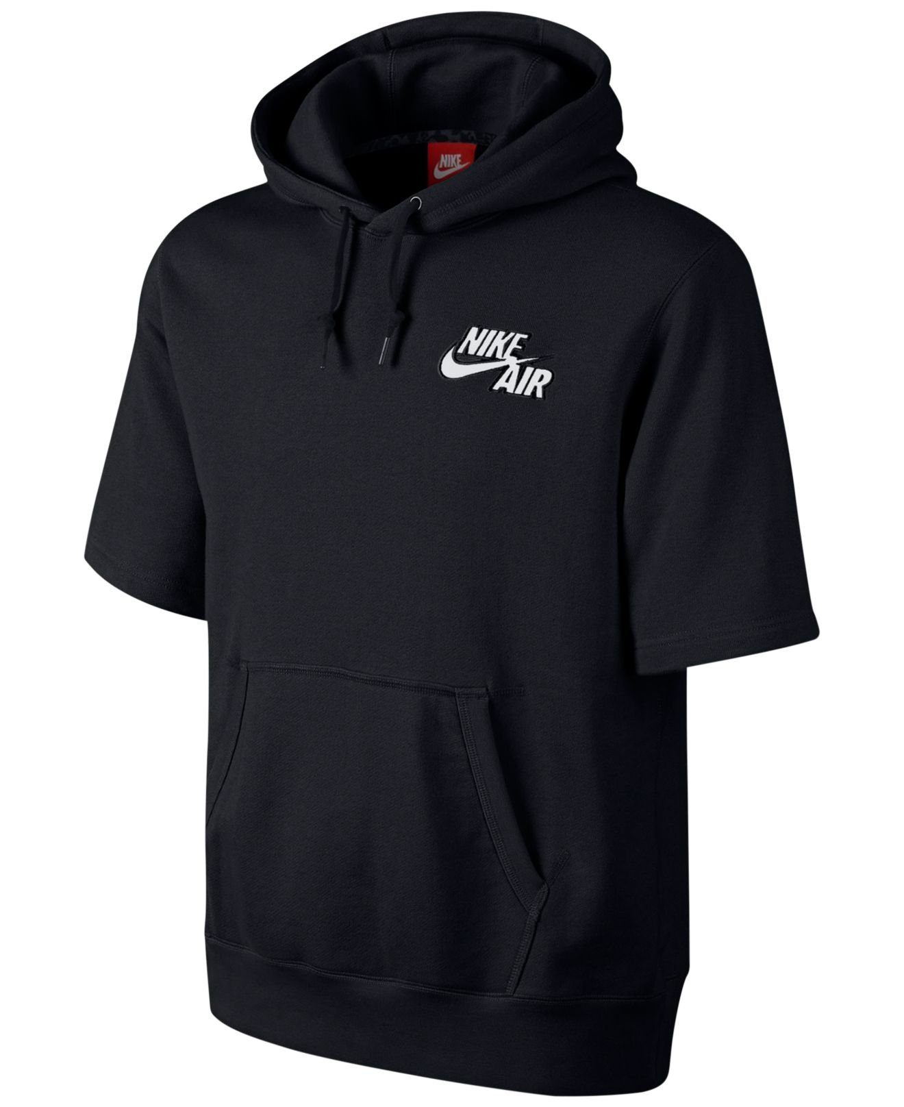 c5b6edf6f0ee Lyst - Nike Air Pivot Short-Sleeve Hoodie in Black for Men