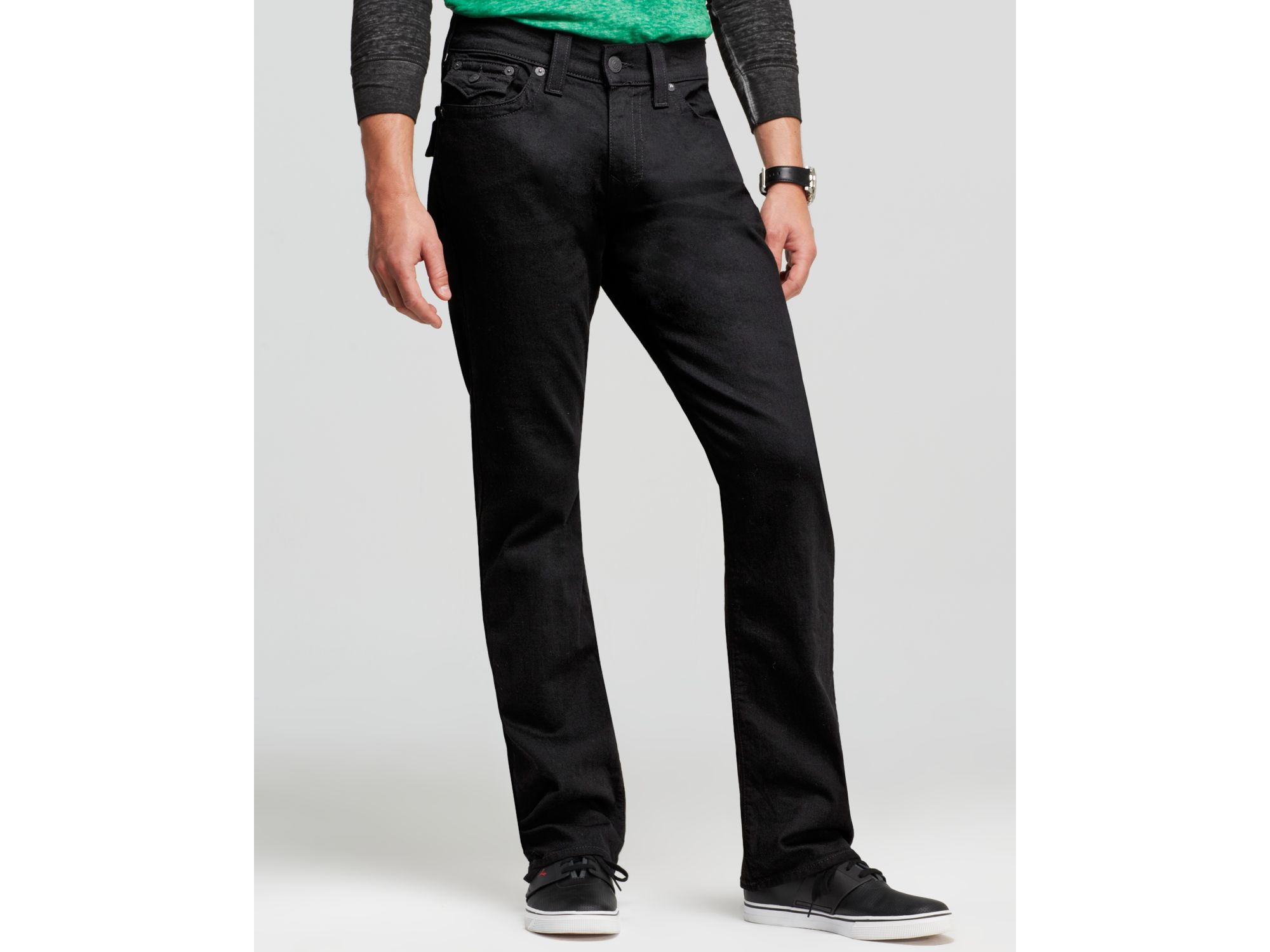 ea103de1a True Religion Jeans - Ricky Relaxed Fit In Black Midnight in Black ...