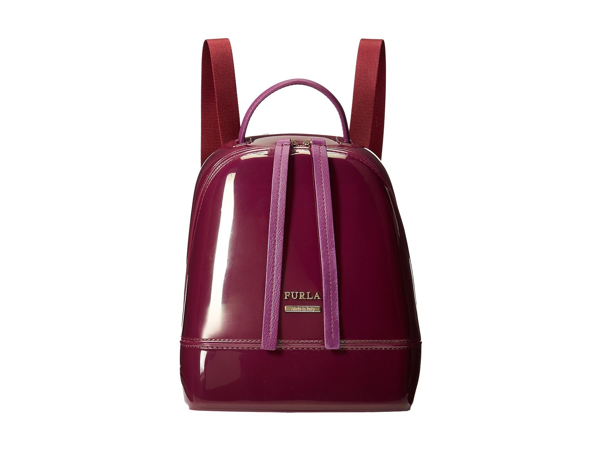 8e8aa5ed24f3 Lyst - Furla Candy Mini Backpack in Purple