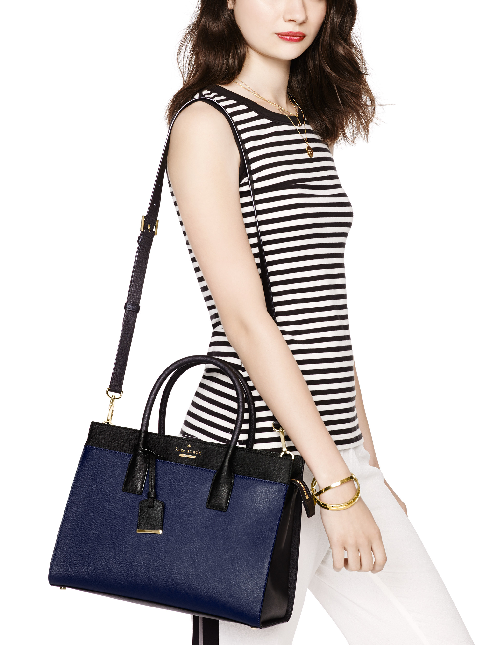 Kate Spade New York Cameron Street Candace Satchel In Blue