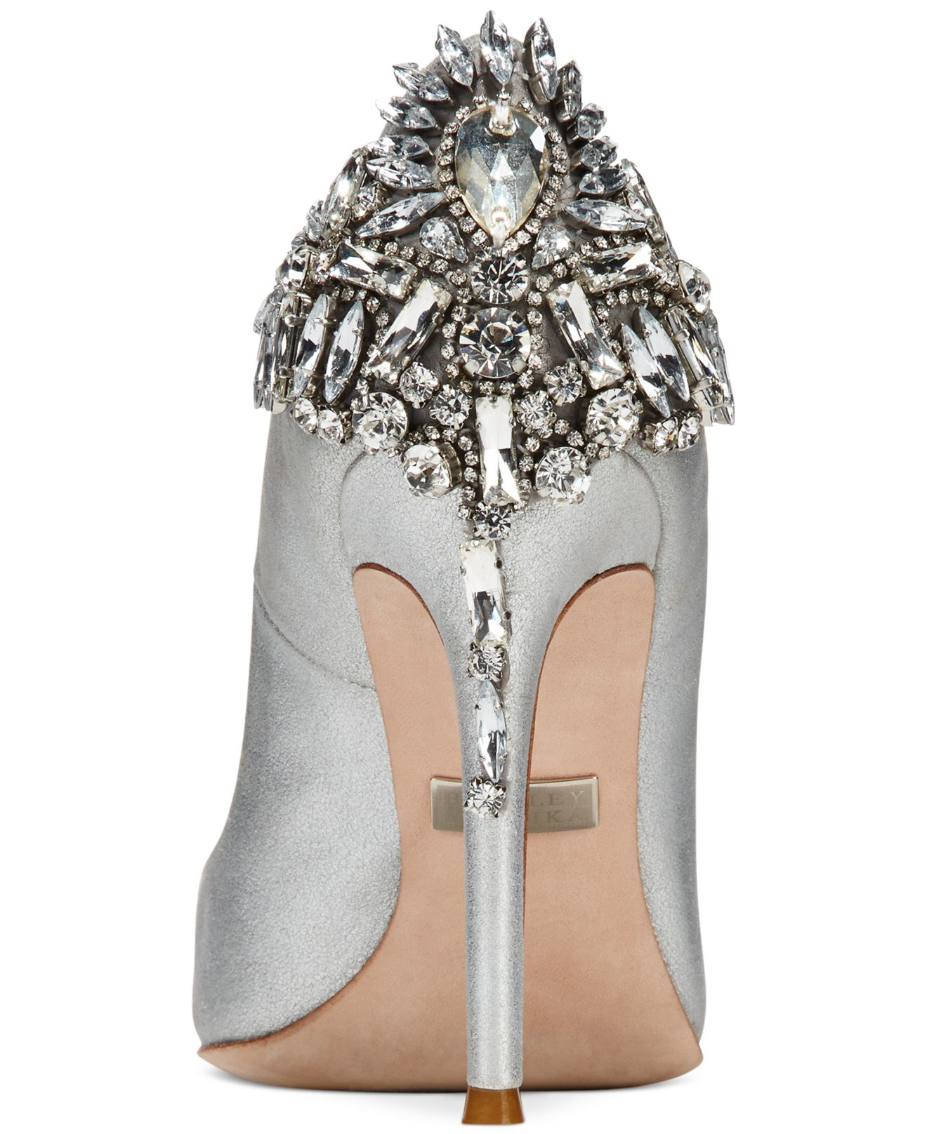 Badgley mischka Poetry Evening Pumps in Metallic