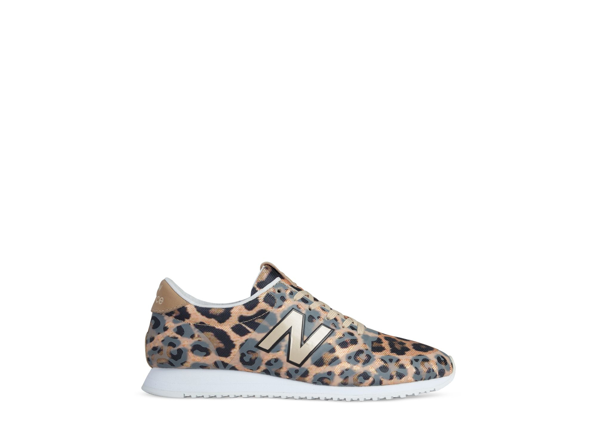 new balance leopard print 420 sneakers lyst. Black Bedroom Furniture Sets. Home Design Ideas