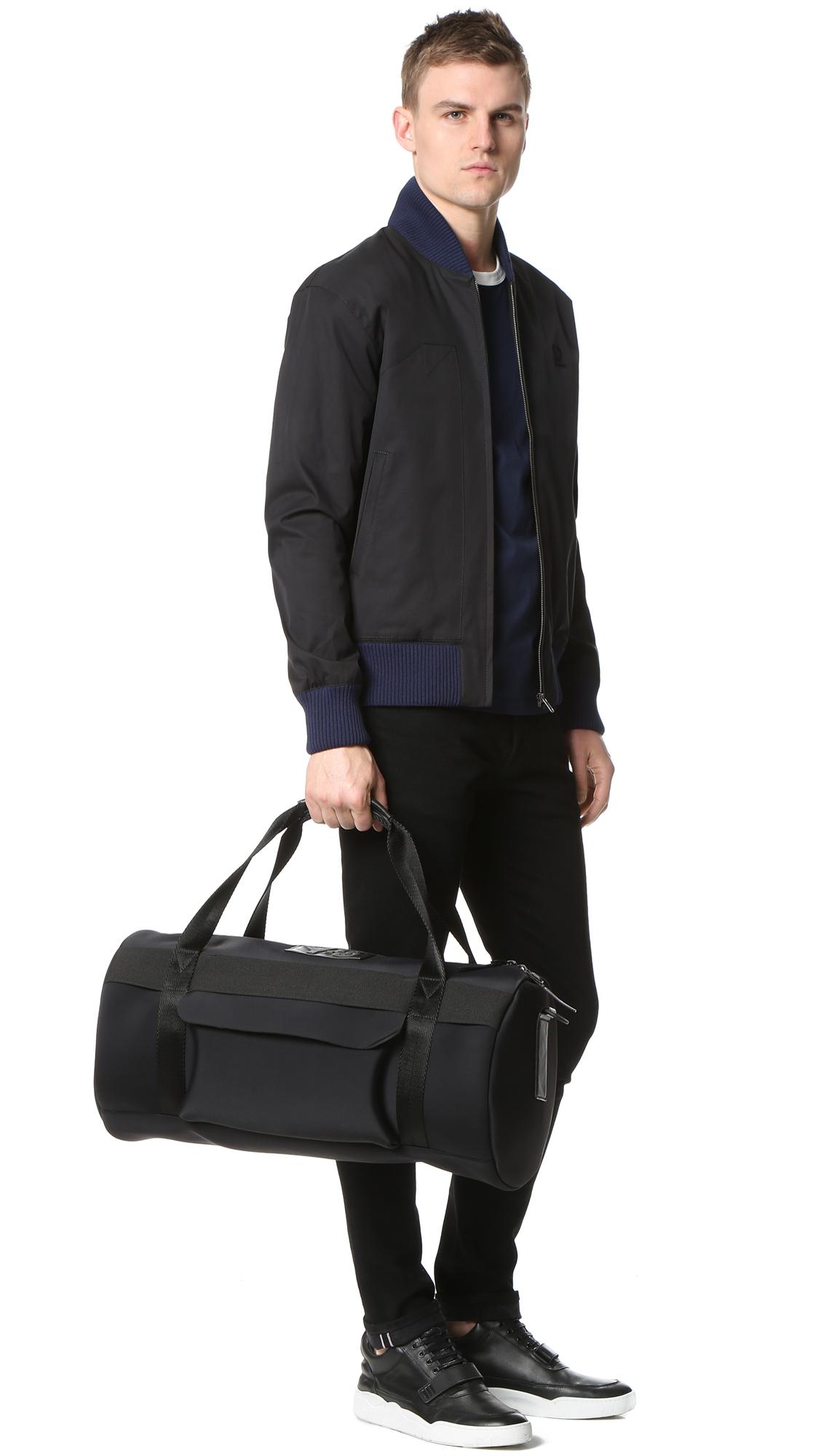 Y 3 Qasa Gym Bag In Black For Men