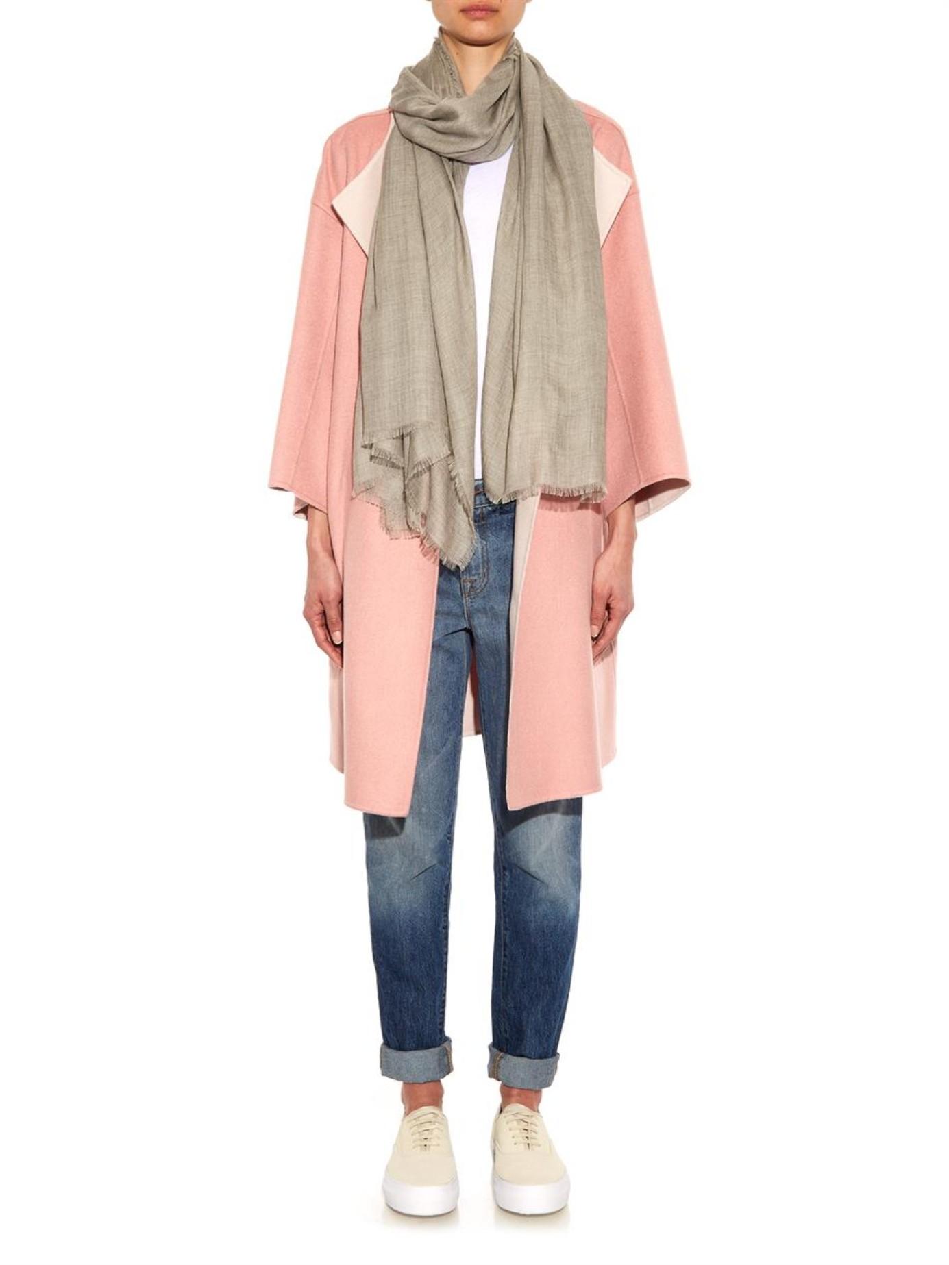 Superfine cashmere scarf Raey qw1hEmcX