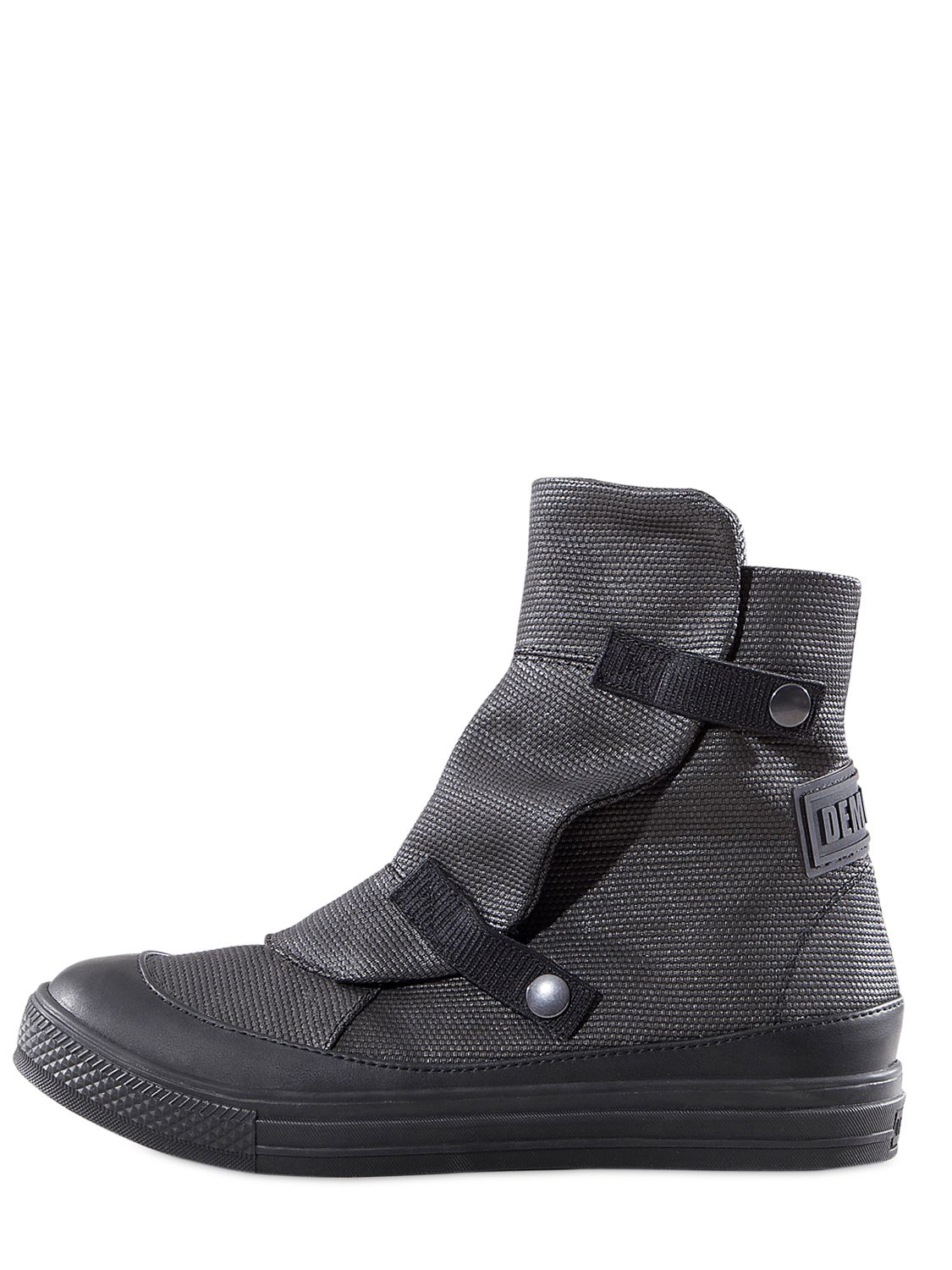 Demobaza Moon Canvas Low Boots In Gray Grey Lyst
