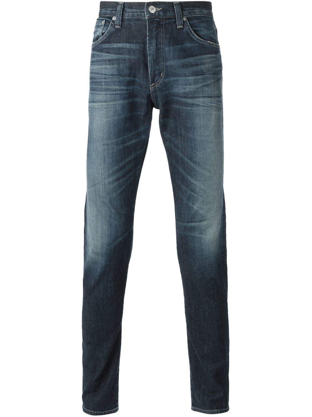 citizens of humanity slim fit jeans in blue for men lyst. Black Bedroom Furniture Sets. Home Design Ideas