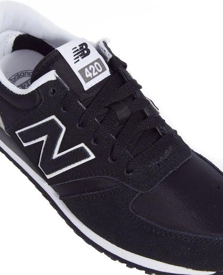 New Balance U420 Black Black Exclusive New Balance Black And Gray
