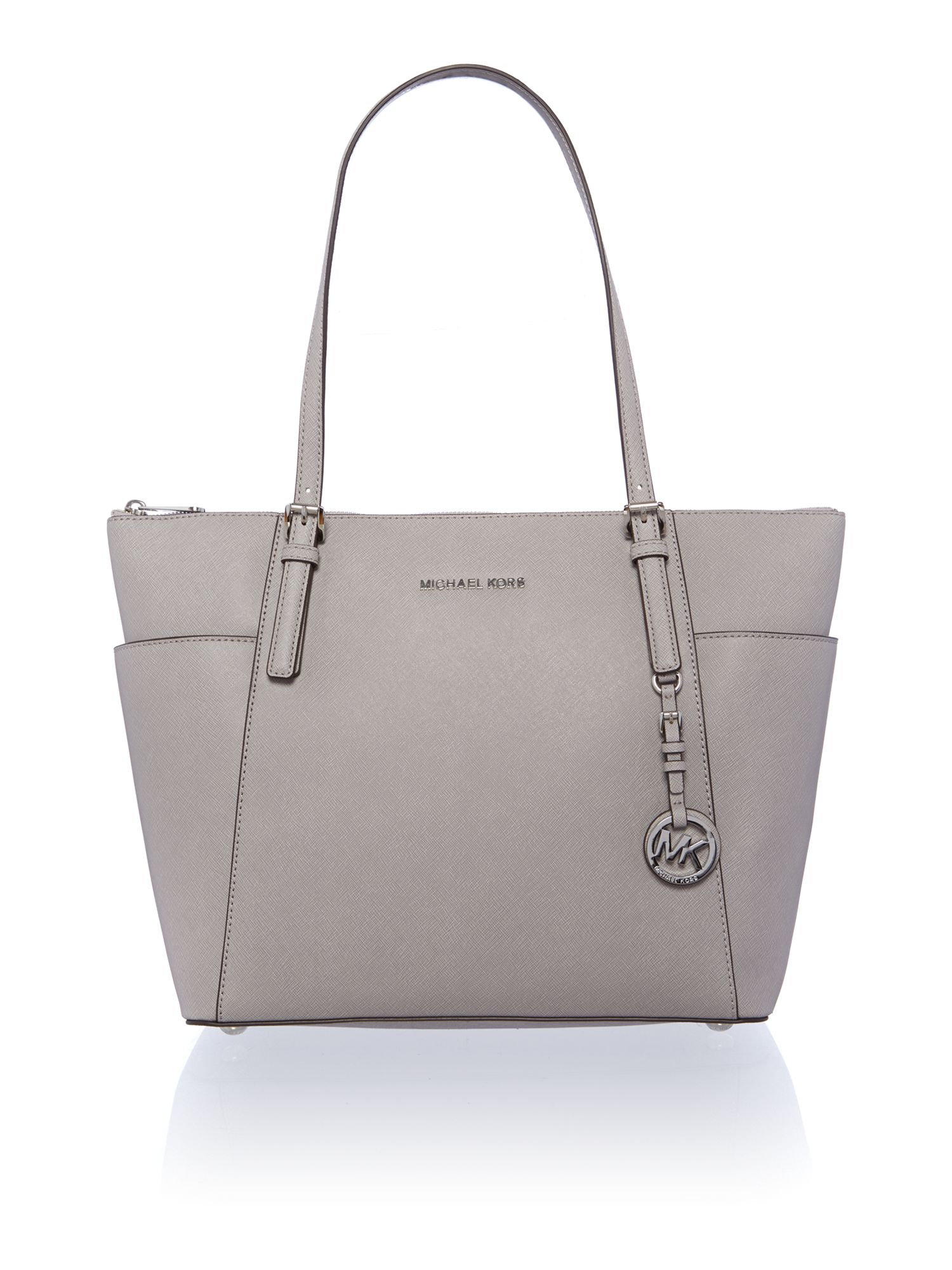 b47bbc8190ad5e Michael Kors Grey Tote Bag | Stanford Center for Opportunity Policy ...