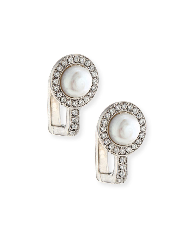 Balenciaga Faux pearl earrings ZeKQRQz