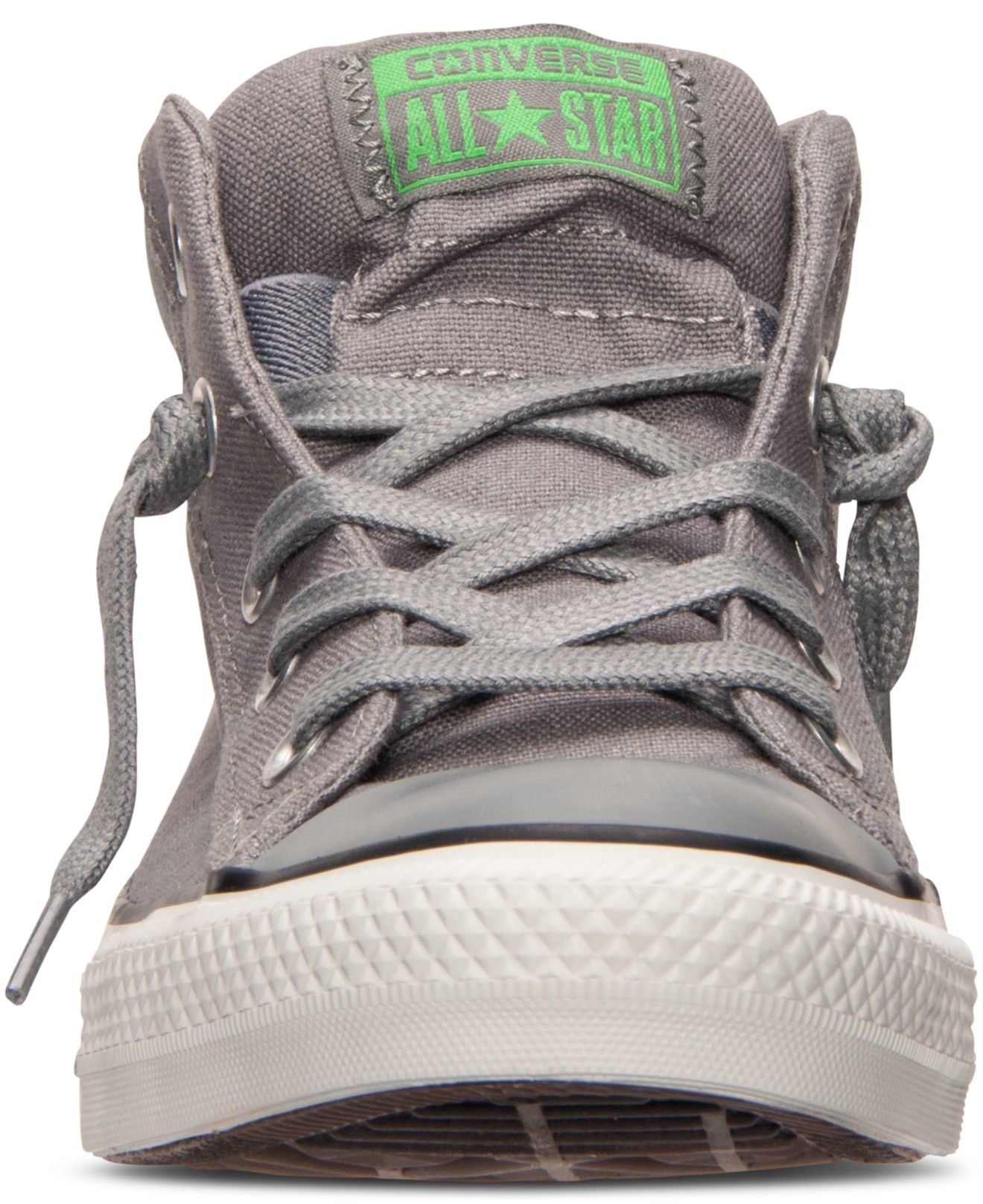 7a38a211531e Lyst - Converse Men s Chuck Taylor Street Mid Casual Sneakers From Finish  Line in Gray for Men