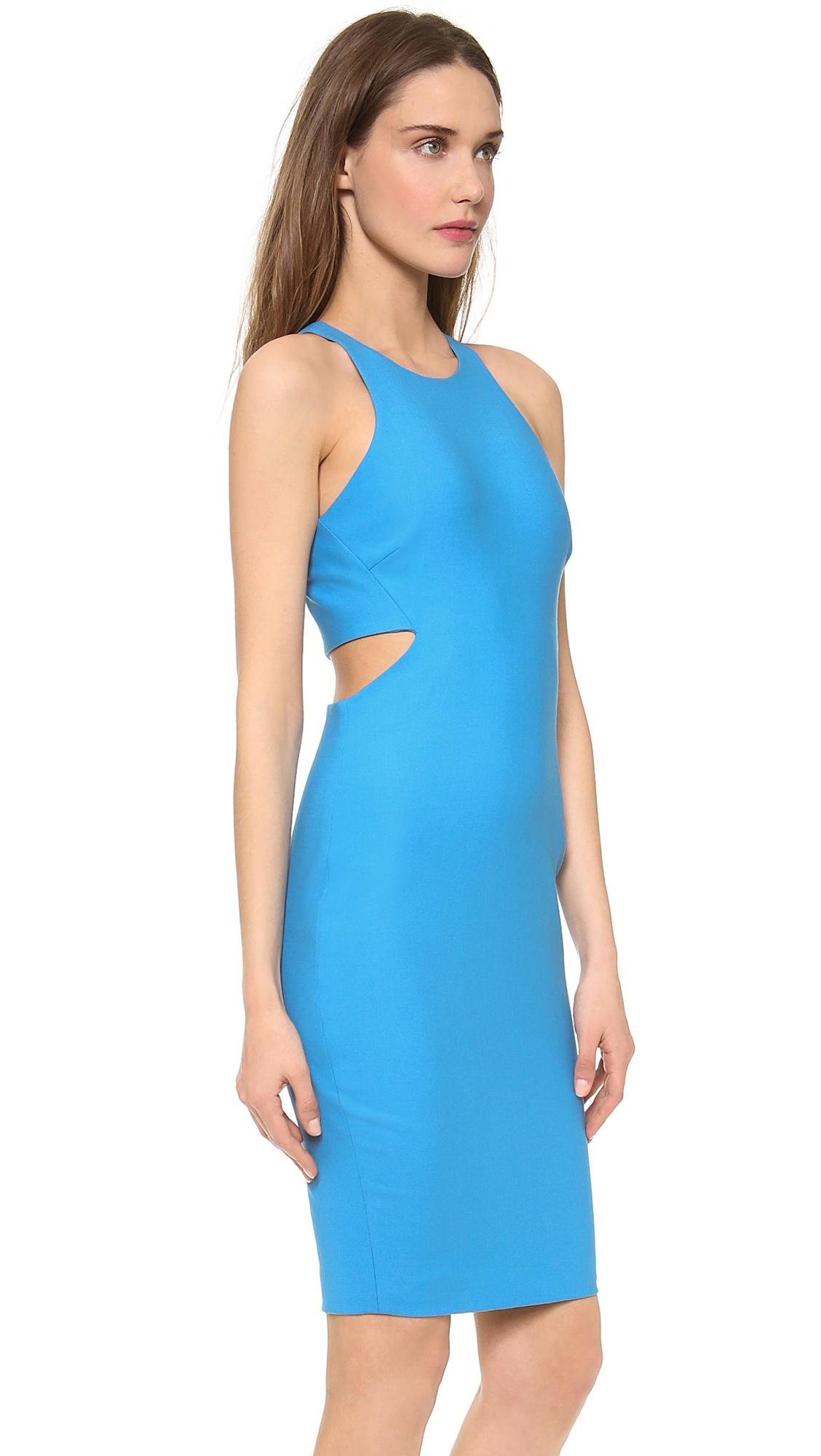 lyst elizabeth and james lela dress in blue. Black Bedroom Furniture Sets. Home Design Ideas