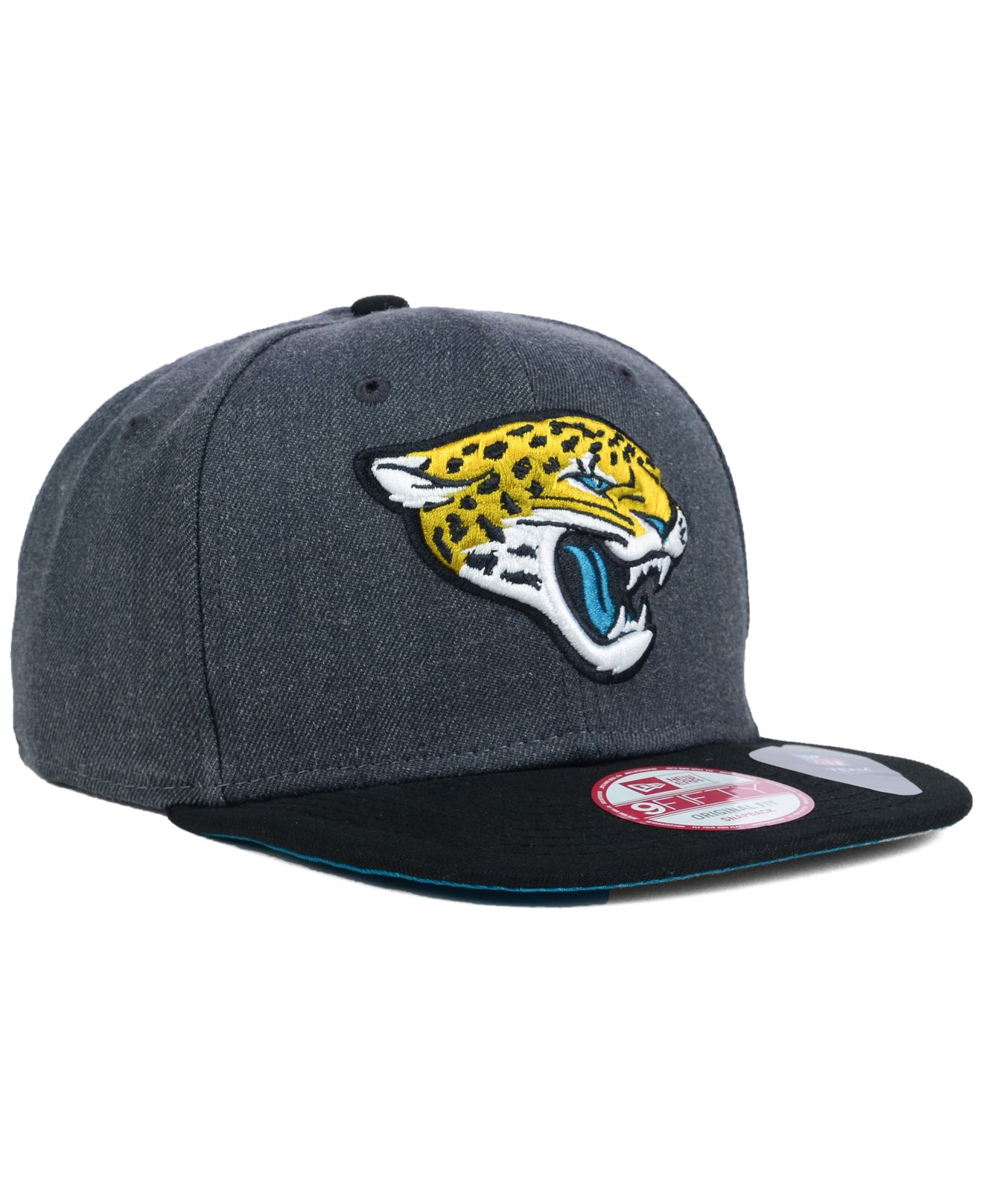 lyst ktz jacksonville jaguars 2 tone action 9fifty. Black Bedroom Furniture Sets. Home Design Ideas