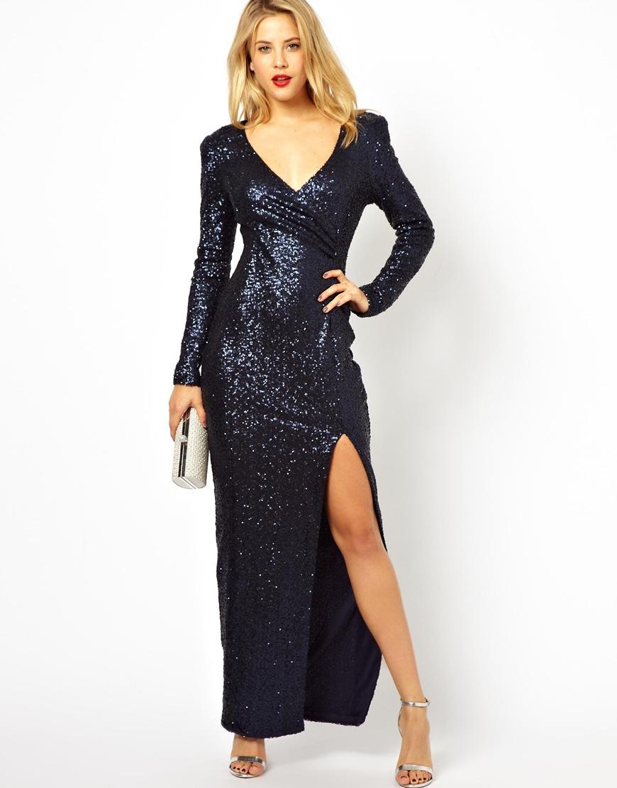 A x paris long dresses designs