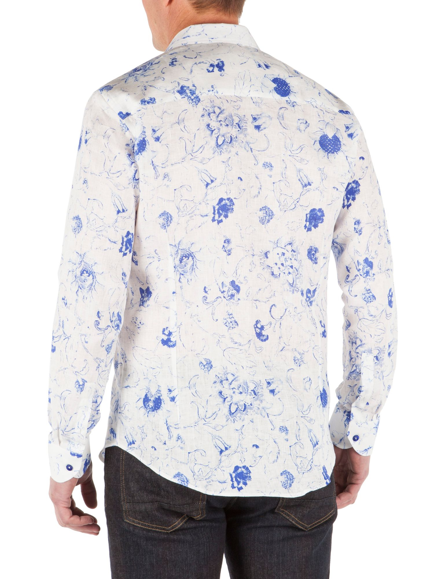 white floral shirt mens artee shirt