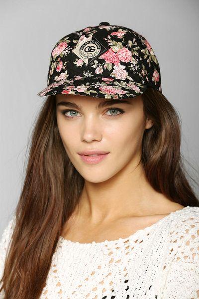 Floral Snapback Hats For Girls Obey Floral Snapback Hat