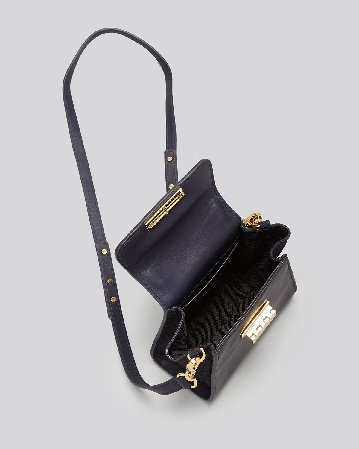 Zac Zac Posen Crossbody Eartha Mini Top Handle Croc