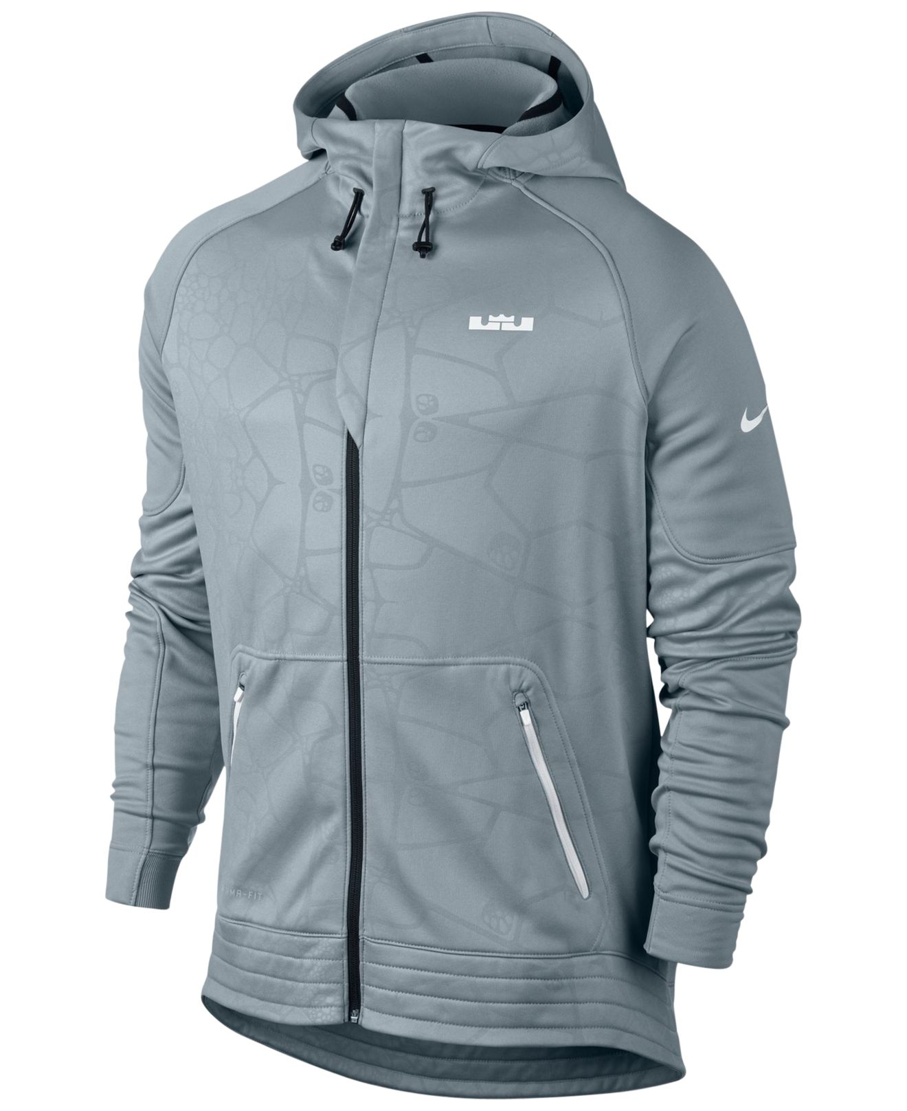 325aa014e8e2 Lyst - Nike Lebron Dna Elite Therma-fit Hoodie in Gray for Men