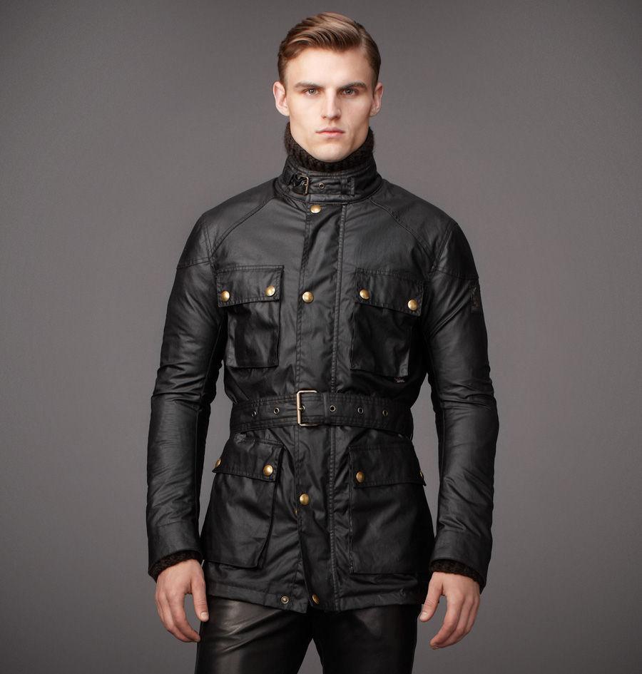 belstaff the roadmaster jacket in black for men lyst. Black Bedroom Furniture Sets. Home Design Ideas