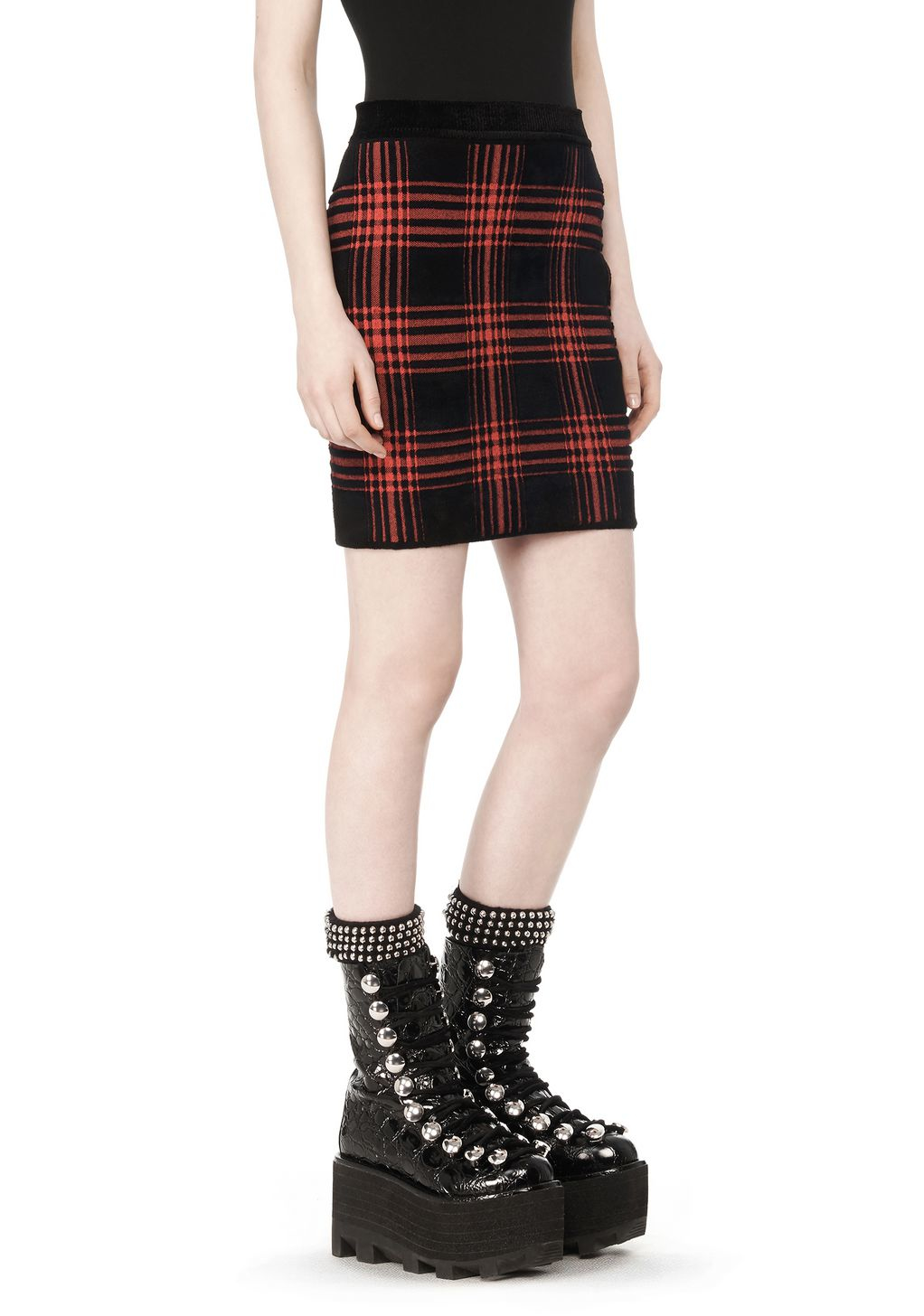 Red Plaid Skirt - Sears - Online & In-Store Shopping